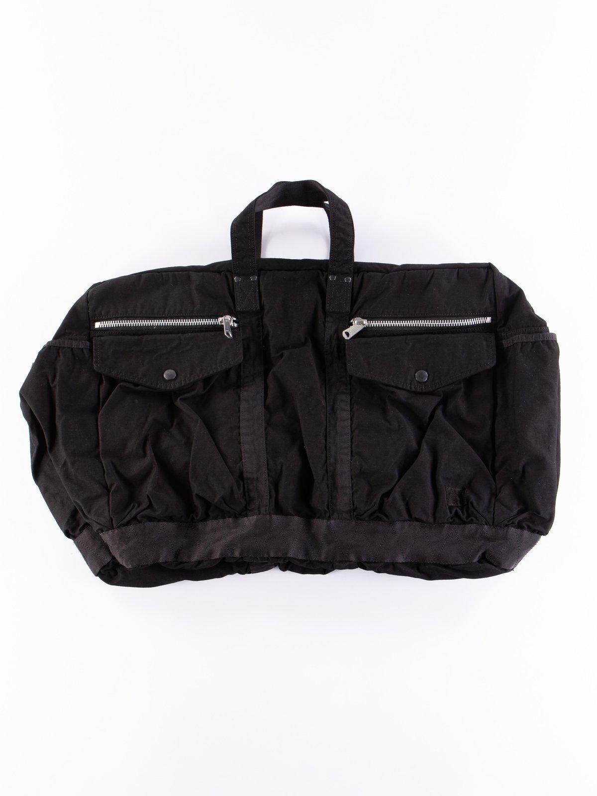 Black Crag 2Way Boston Bag Large - Image 1