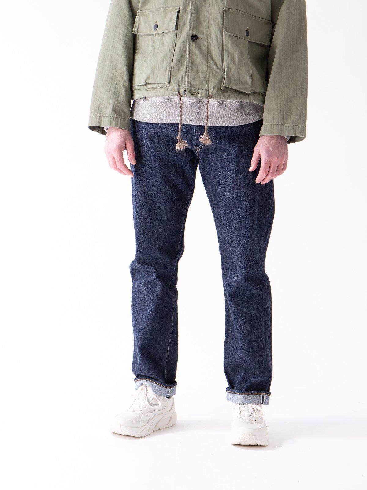 Indigo One Wash 105 Standard 5 Pocket Jean - Image 2