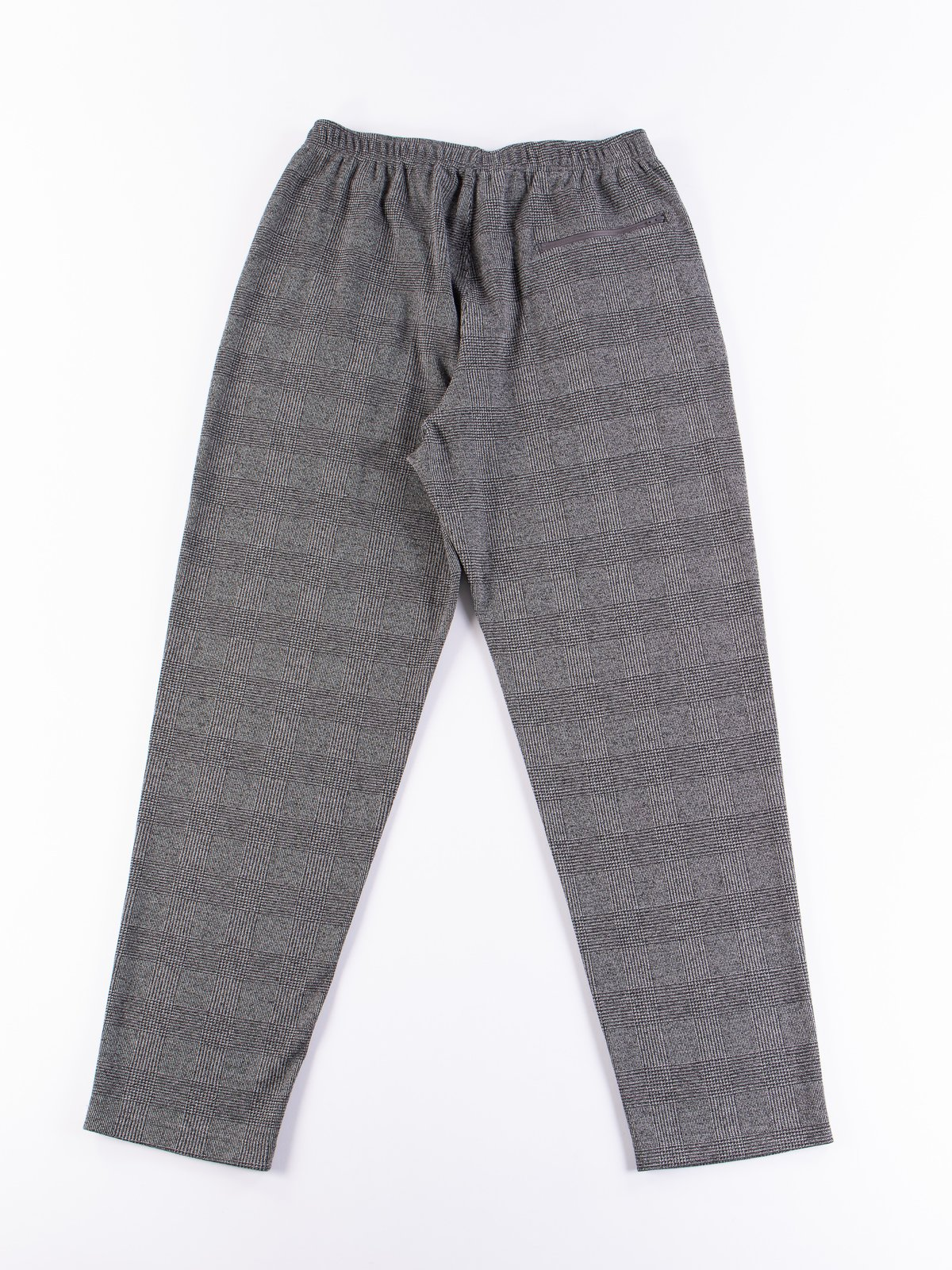 Grey PC Knit Glen Plaid Jog Pant - Image 8