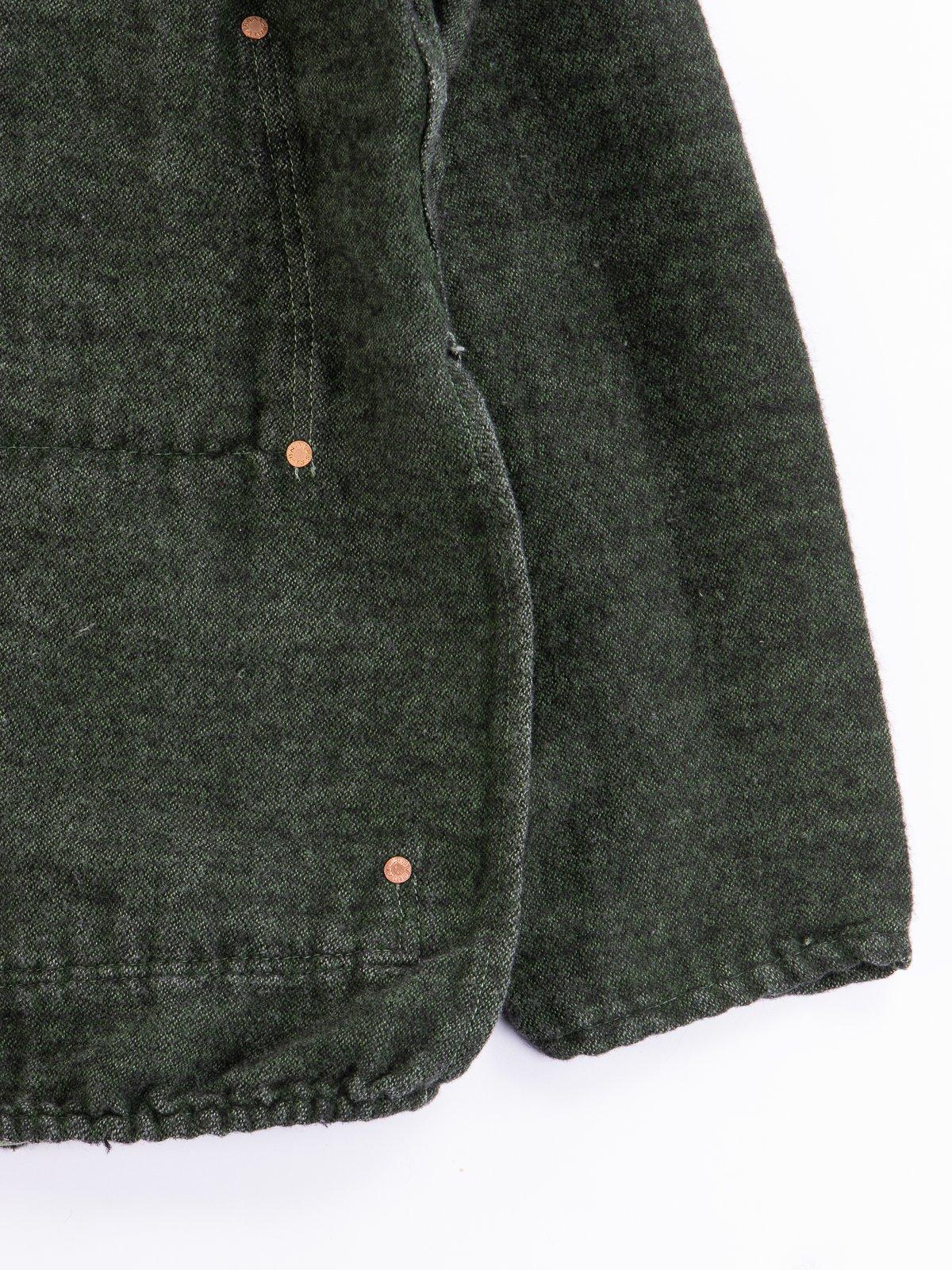 Viridian/Black Cotton/Mohair Janus Jacket - Image 3
