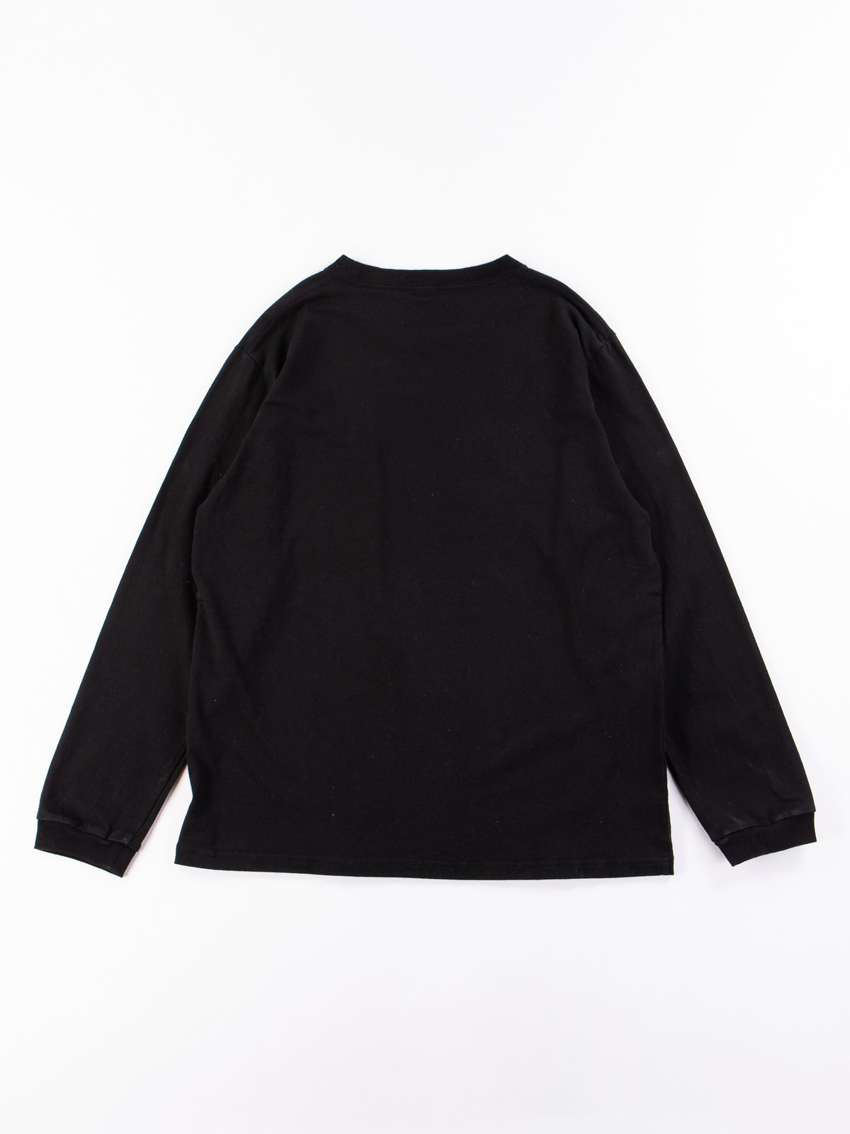 Black Long Sleeve Pocket T–Shirt - Image 6