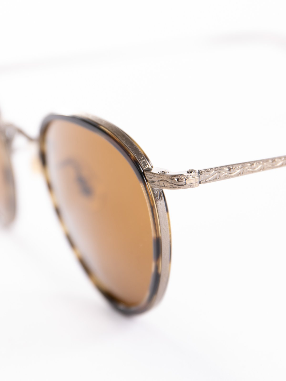 Cocobolo–Antique Gold/Brown MP–2 Sunglasses - Image 3