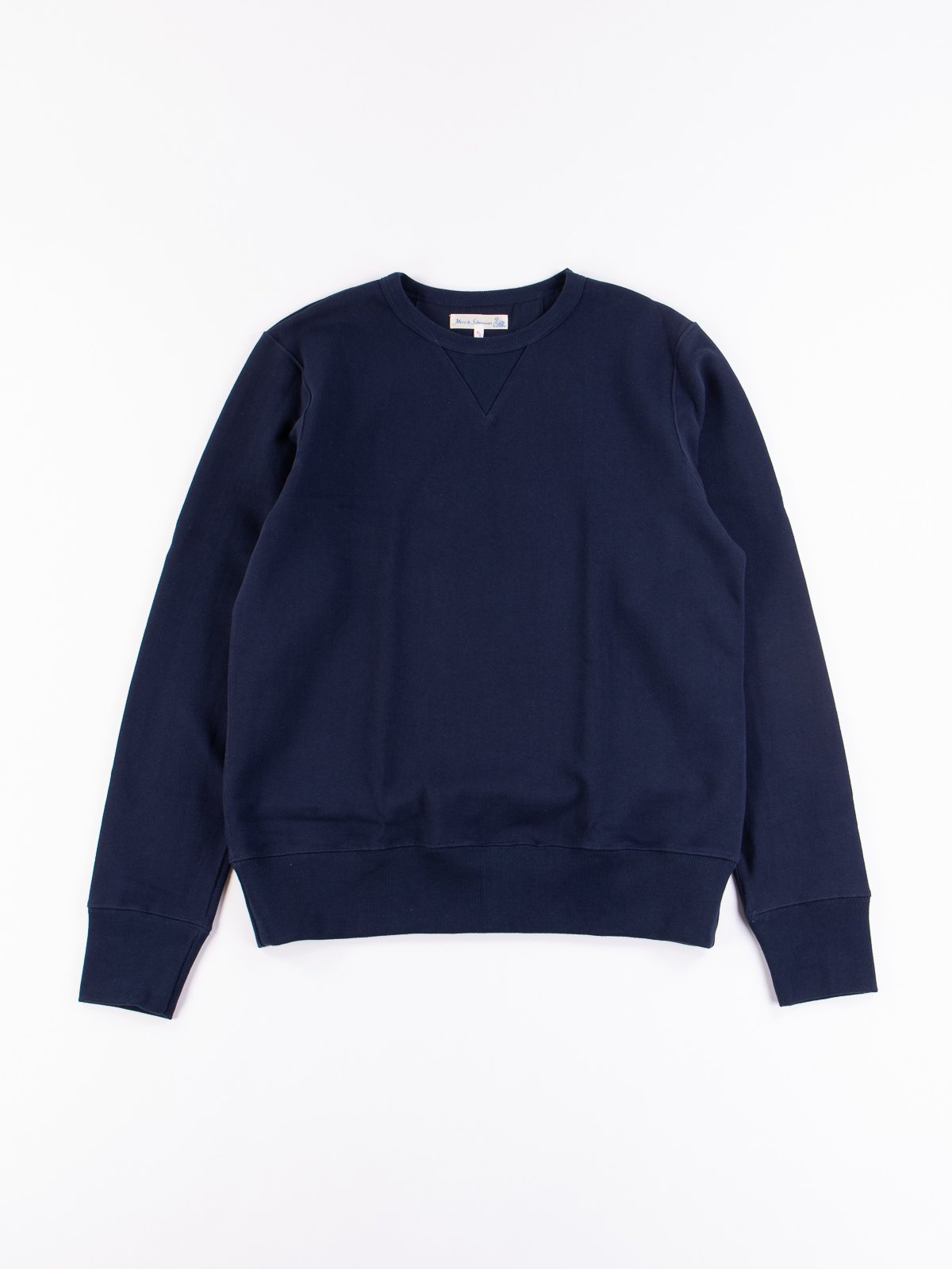 Ink Blue 3S48 Organic Cotton Heavy Sweater - Image 1