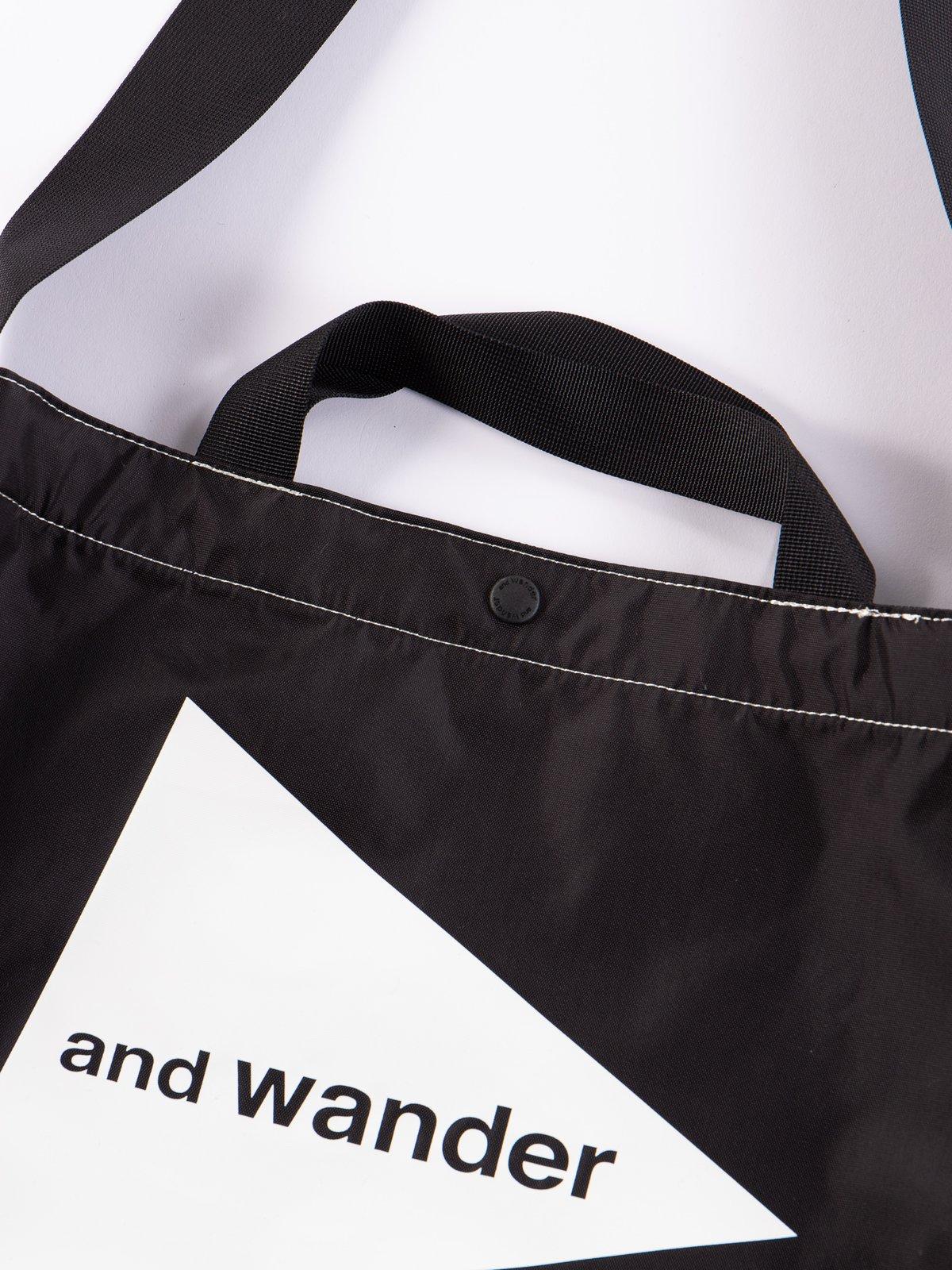 Black Small Logo Tote Bag - Image 2