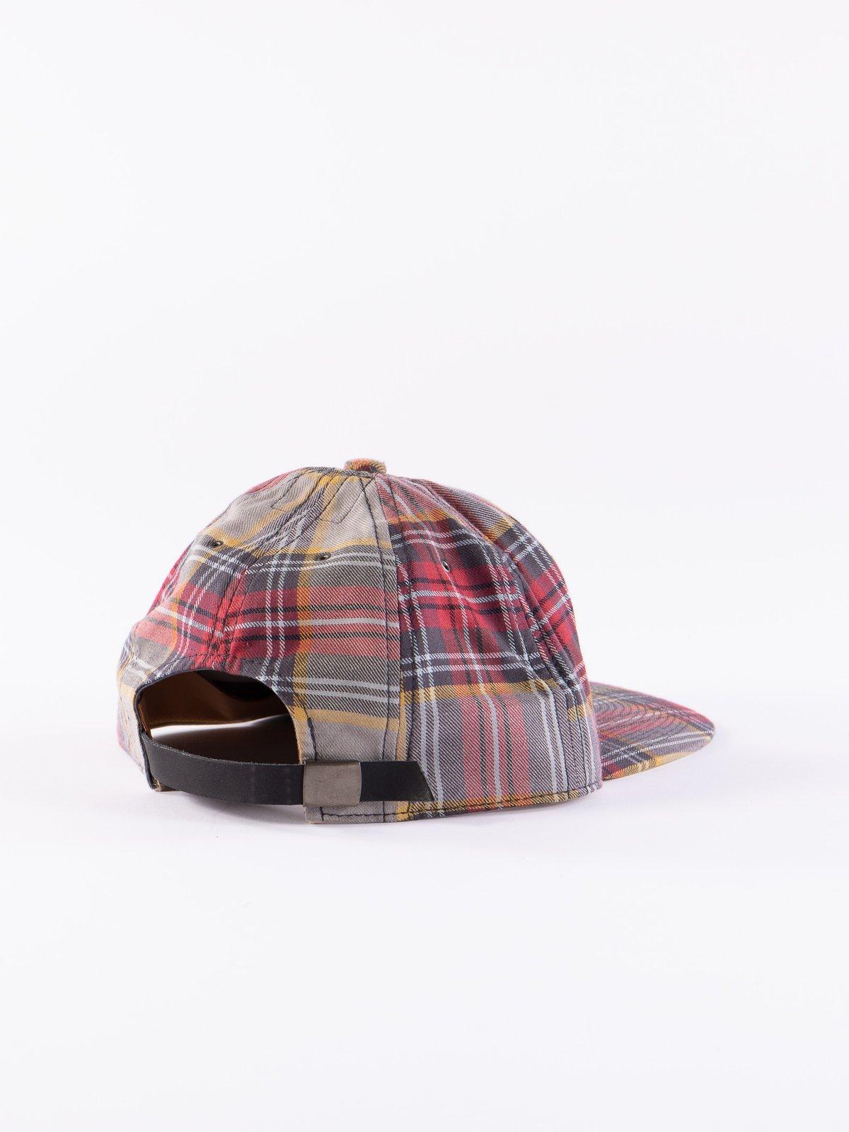 Grey Japanese Flannel Cap - Image 2