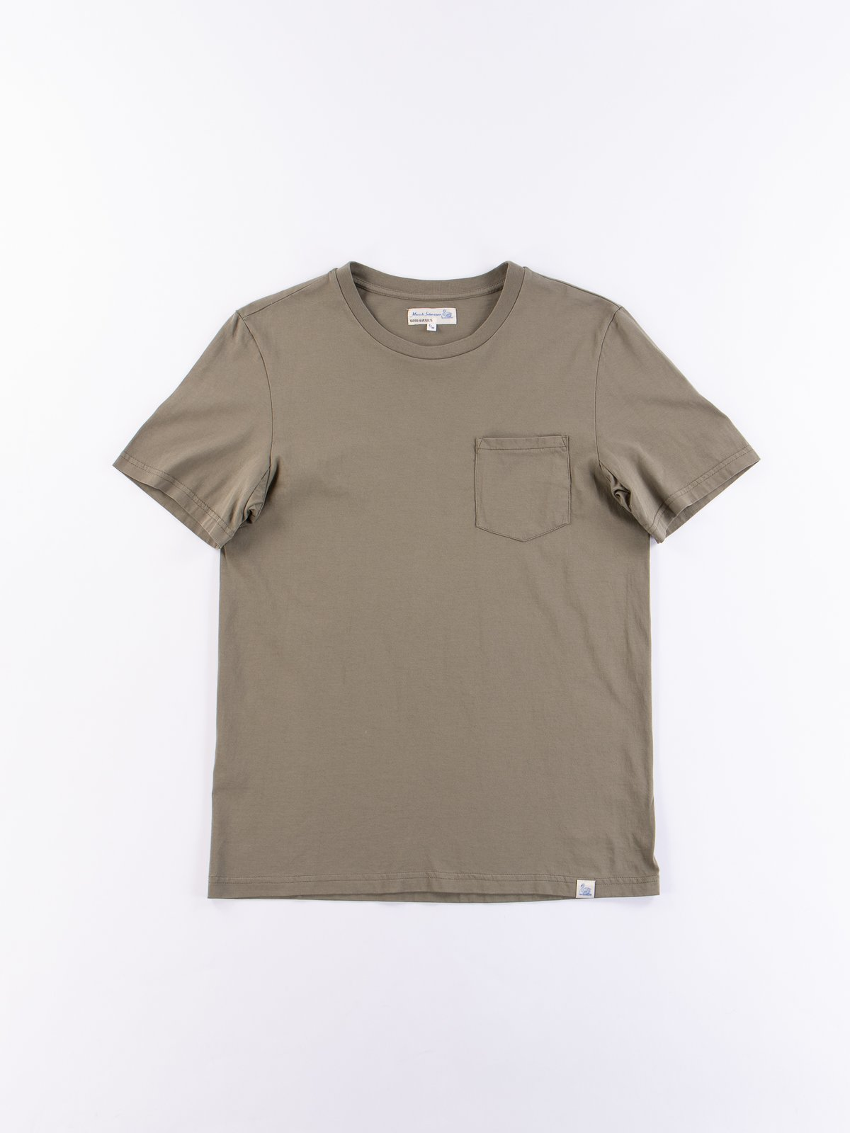 Army Good Basics CTP01 Pocket Crew Neck Tee - Image 1