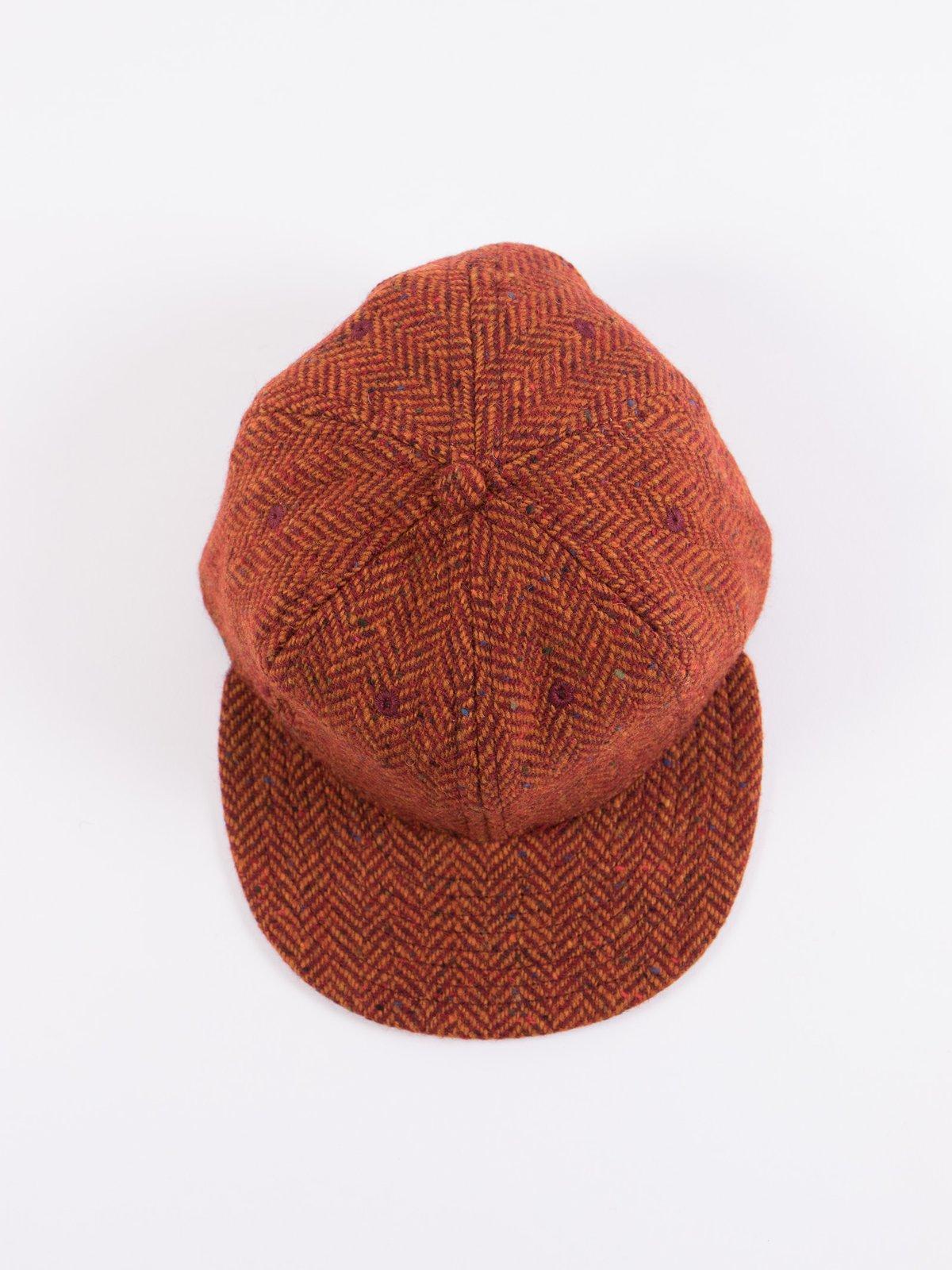 Rust HB Tweed NIer 6 Panel Ballcap - Image 5