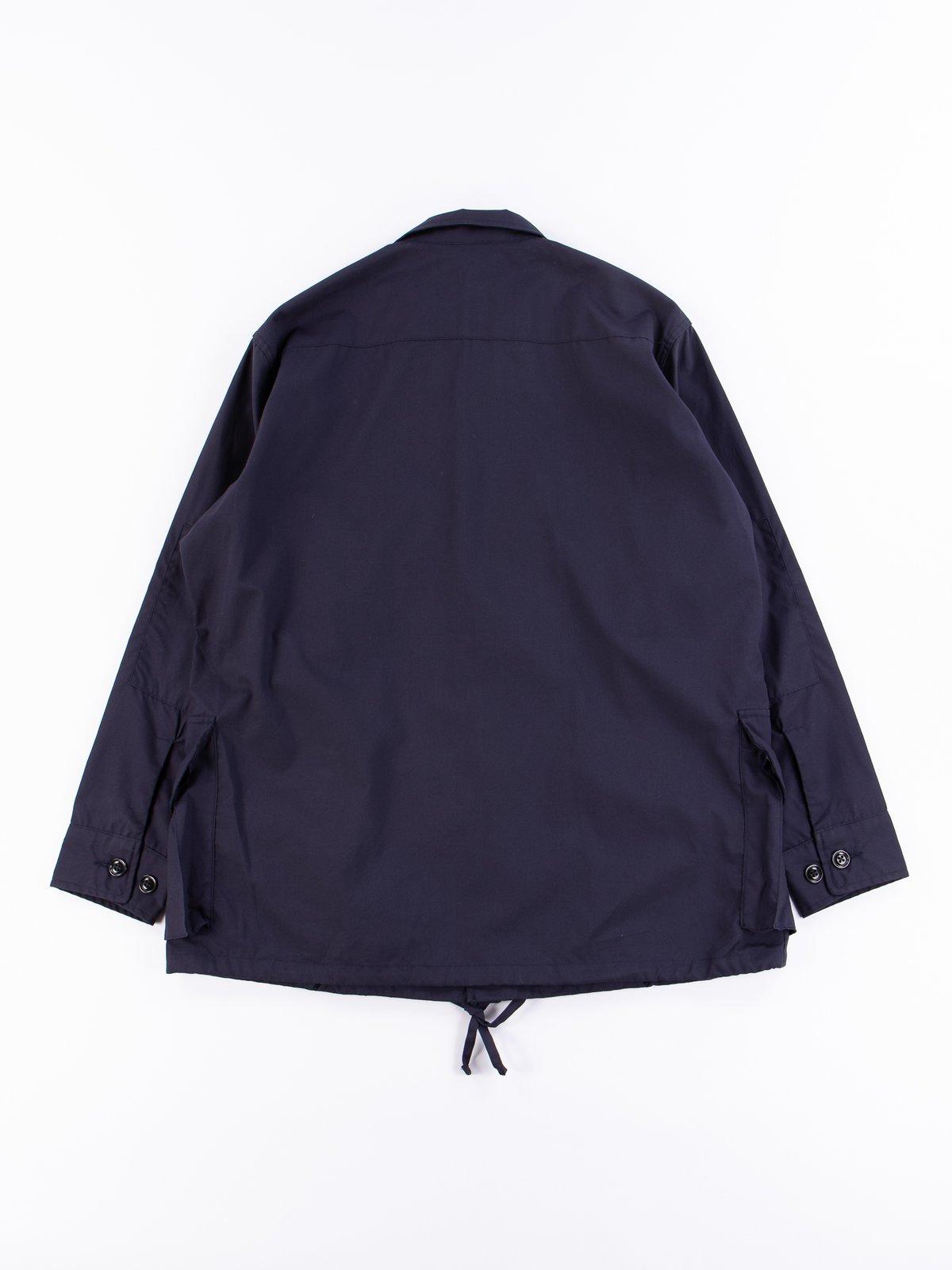 Navy Vancloth Oxford Military Half Coat Type B Exclusive - Image 6