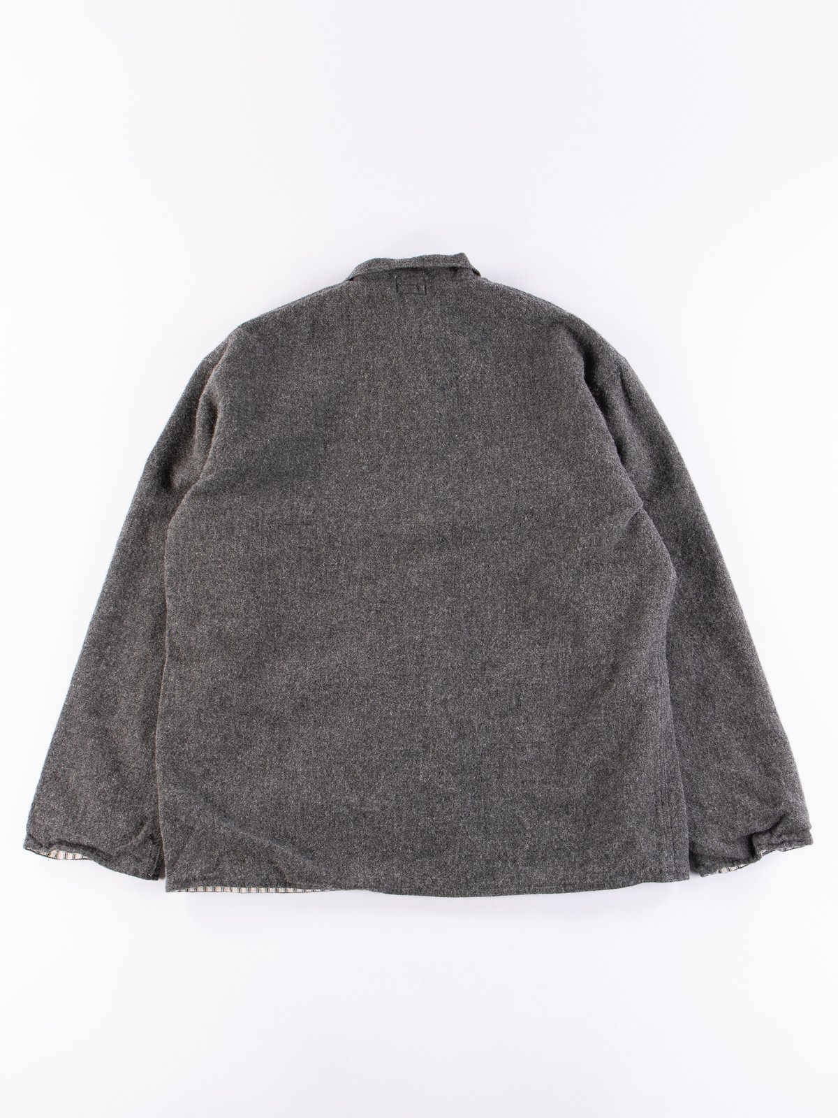 Charcoal Weavers Stock Curve Front Jacket - Image 6