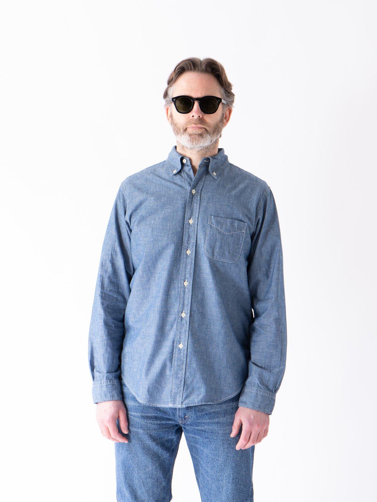 Blue Chambray BD Shirt - Image 2