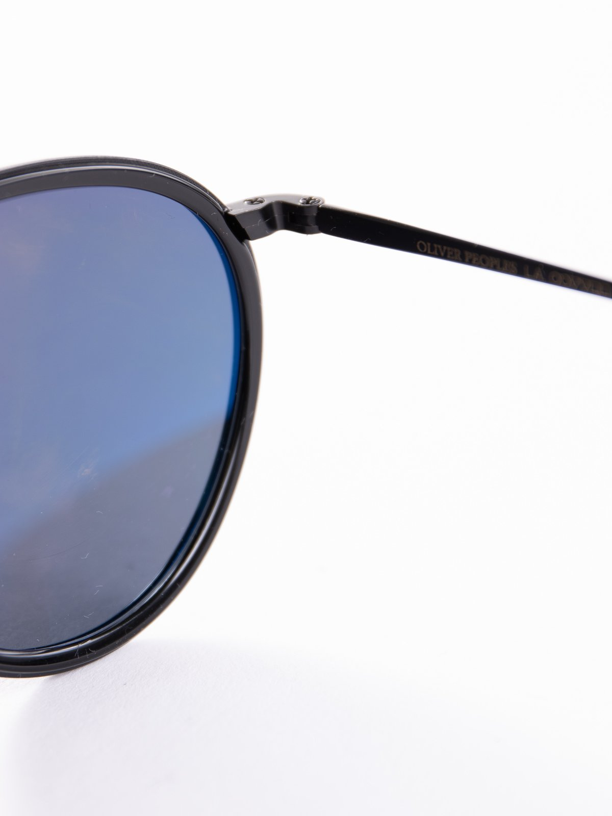 Black–Matte Black/Blue MP–2 Sunglasses - Image 4