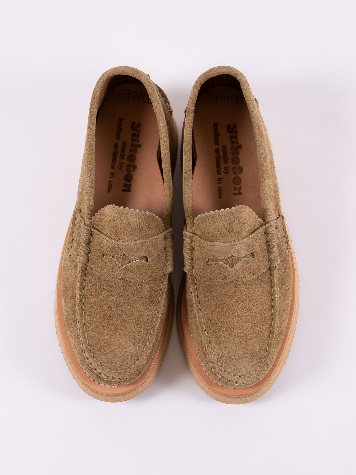 FO Khaki Loafer Shoe Exclusive - Image 6