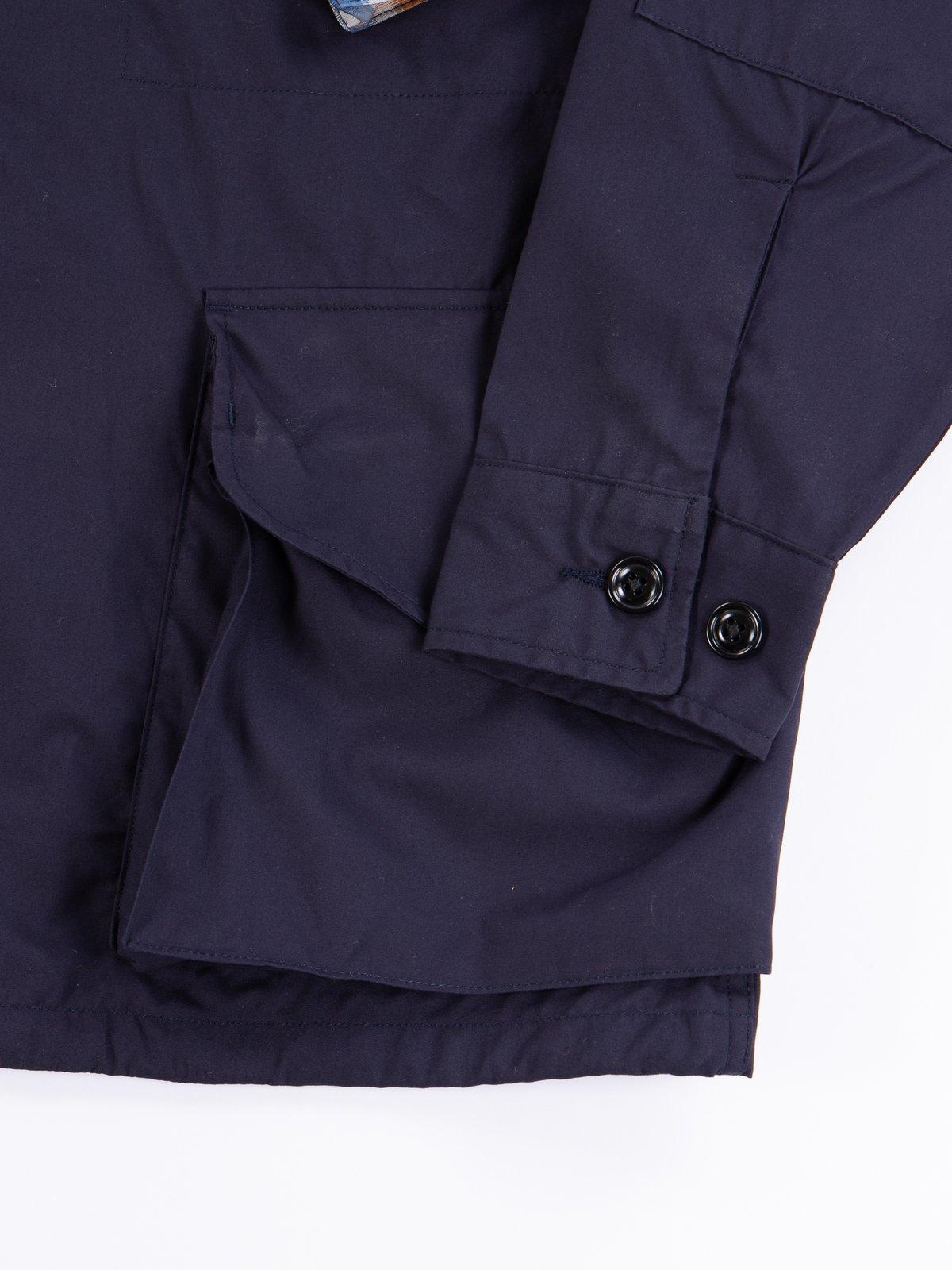 Navy Vancloth Oxford Military Half Coat Type B Exclusive - Image 5