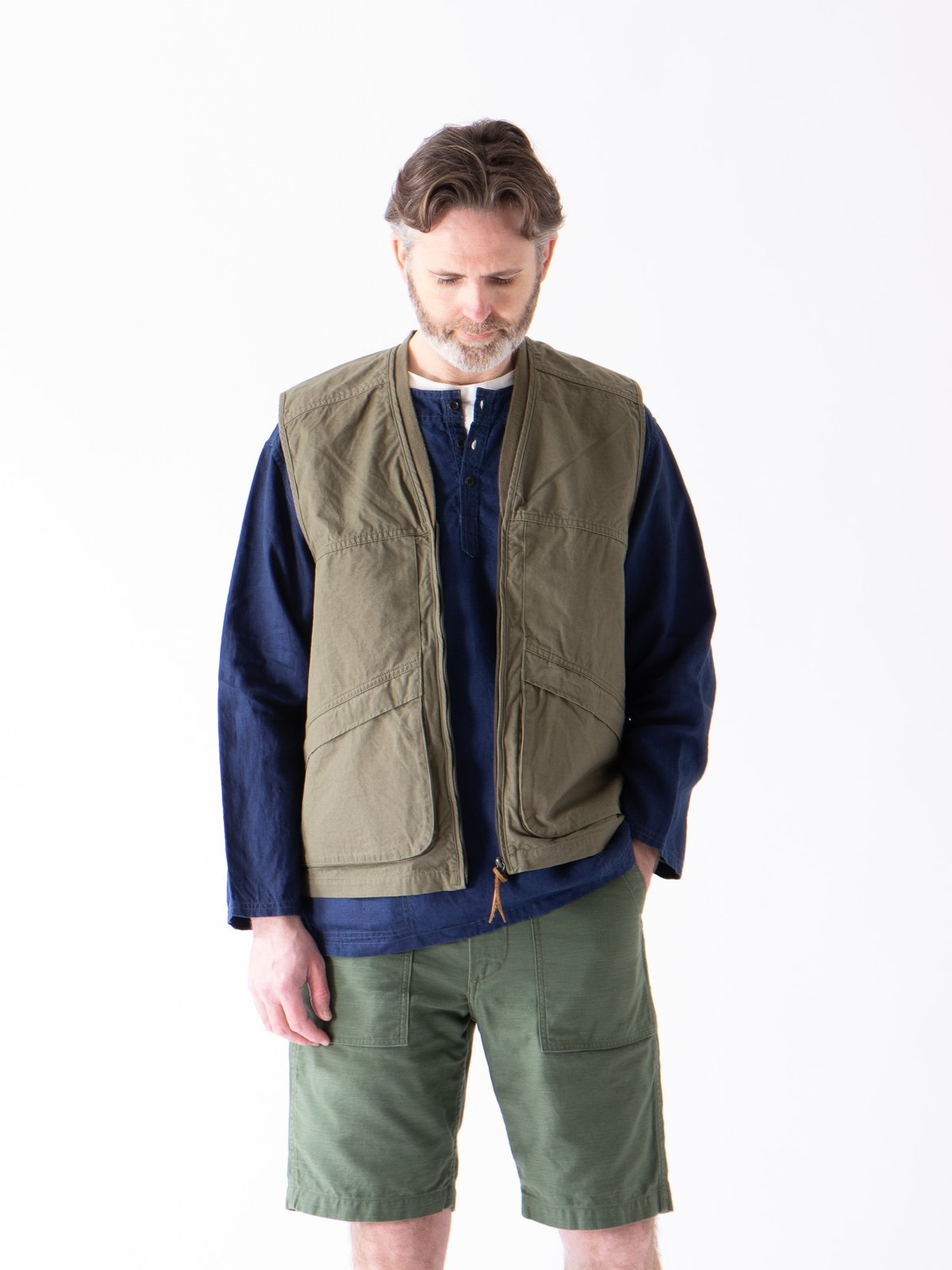 Green Ripstop Utility Vest - Image 2