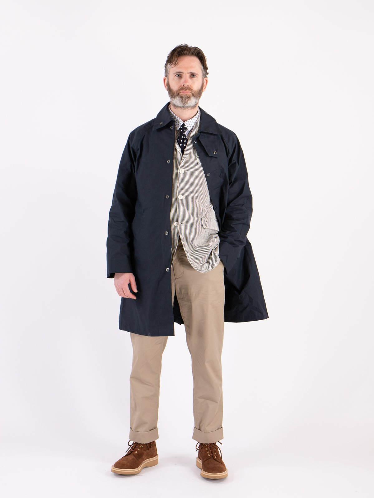 Navy South Overcoat - Image 2