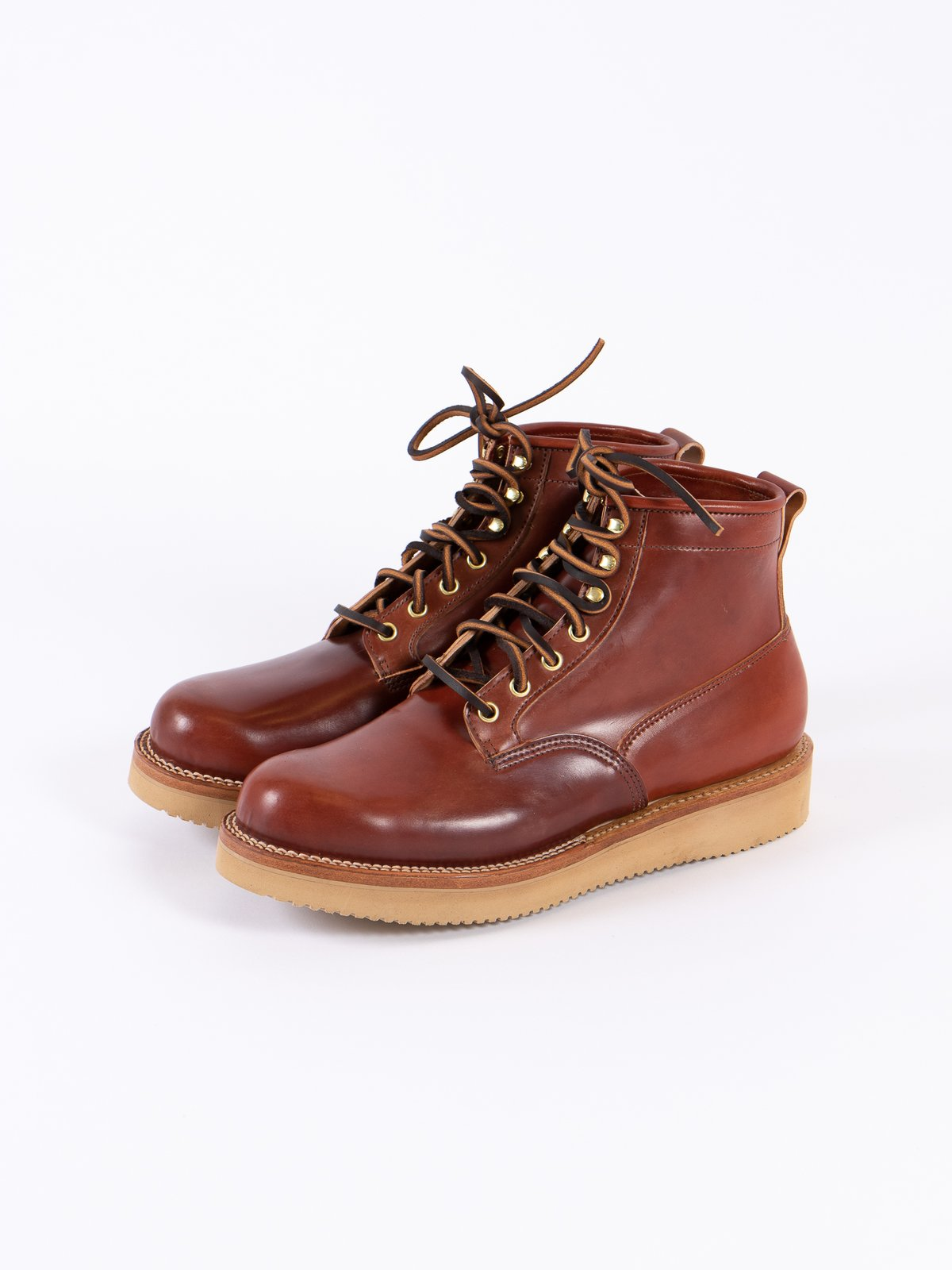 Garnet Shell Cordovan Scout Boot - Image 2