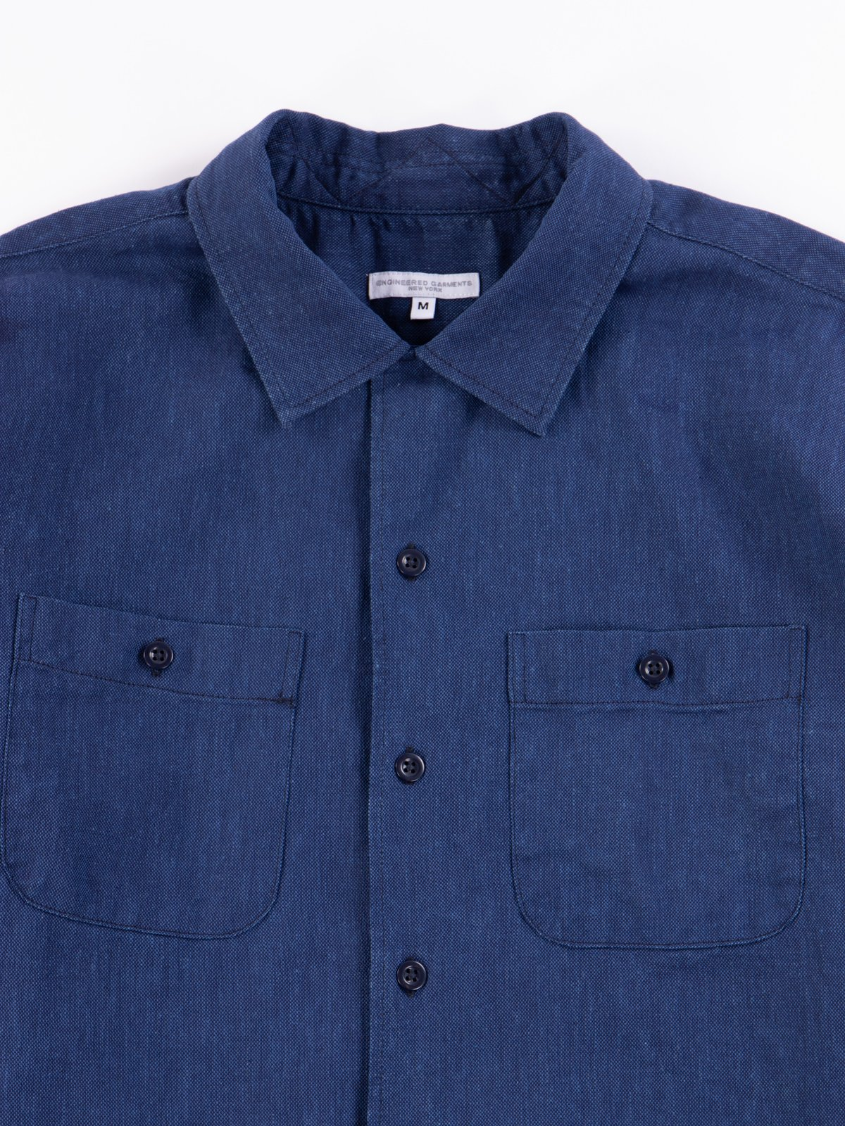 Navy CL Solid Classic Shirt - Image 4