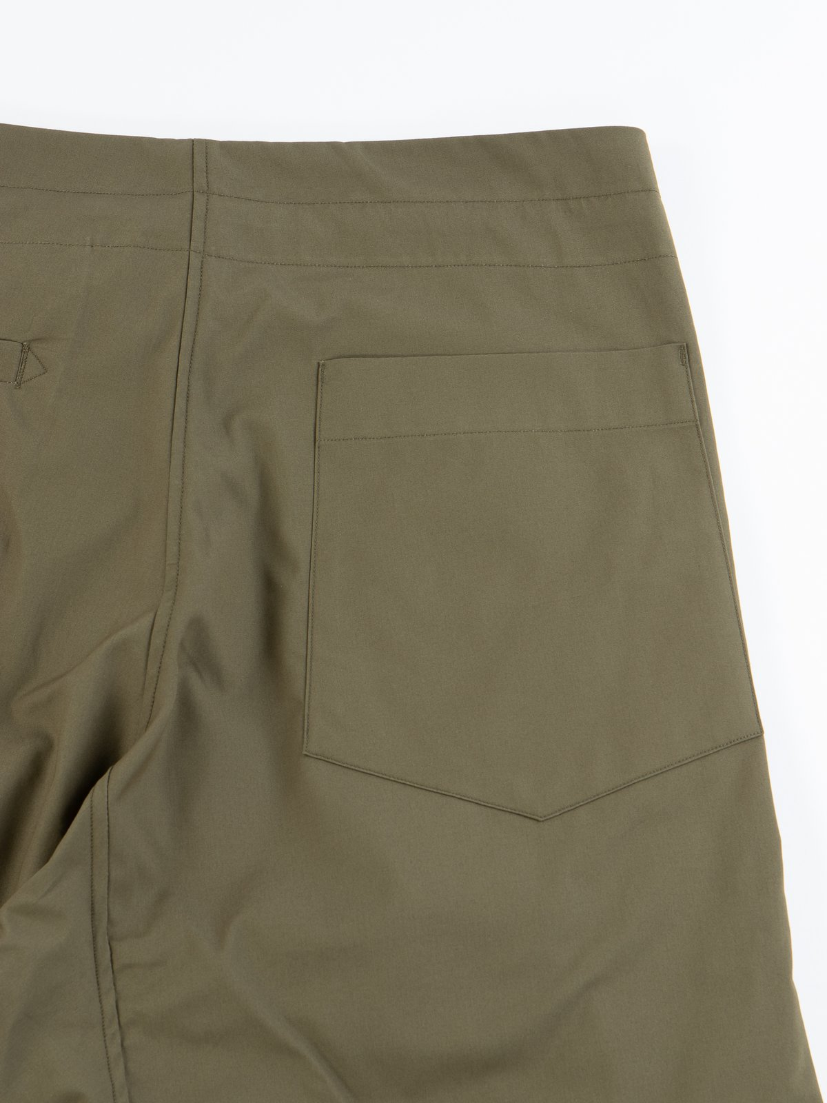 Olive Oxford Vancloth Drop Crotch Pant - Image 6