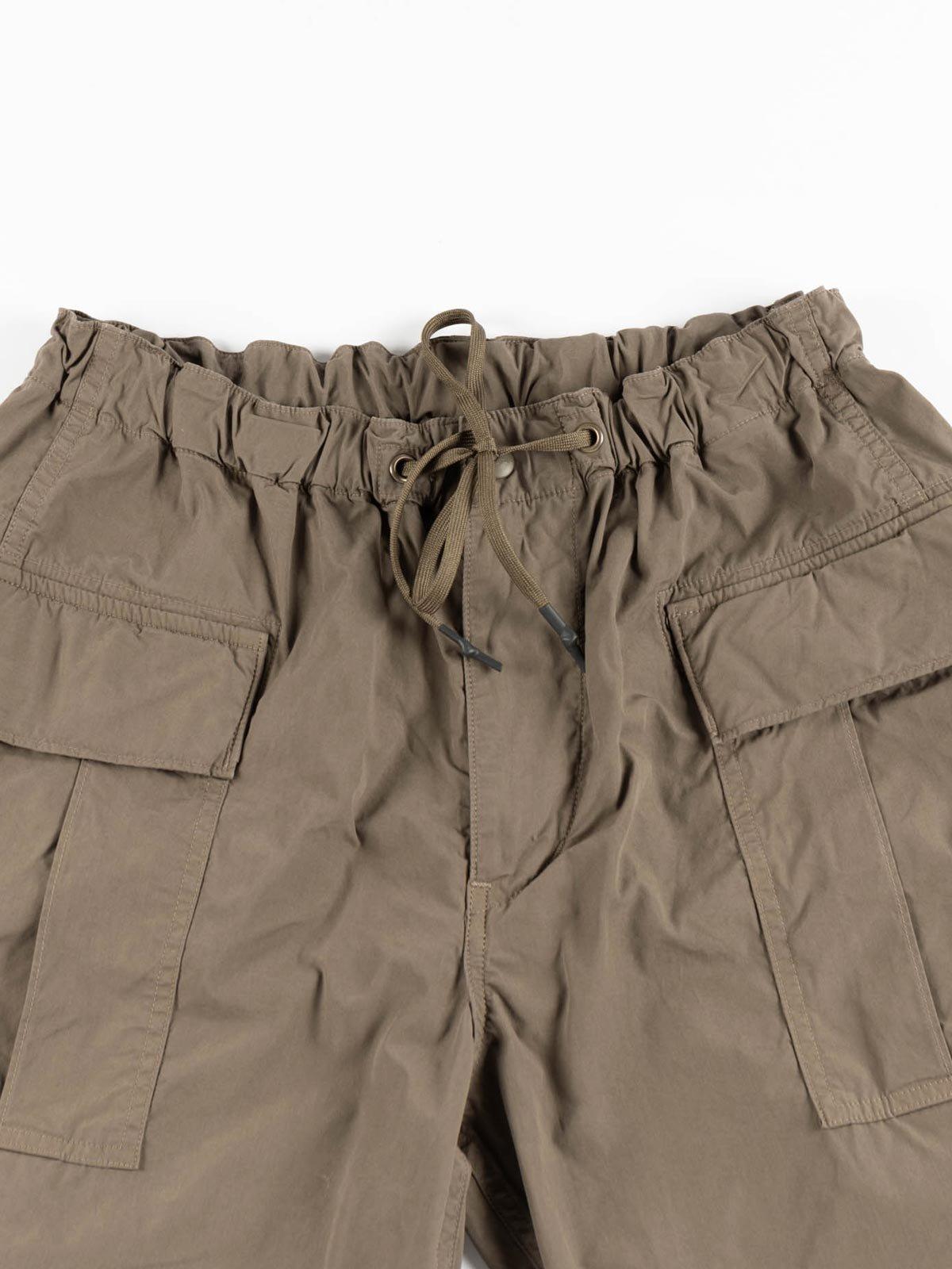 EASY CARGO SHORTS GREIGE TYPEWRITER CLOTH - Image 2