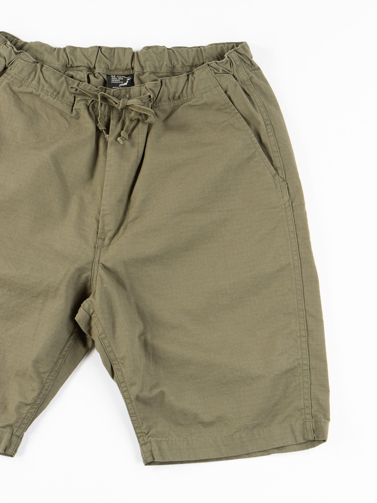 Army Green Ripstop New Yorker Short - Image 3