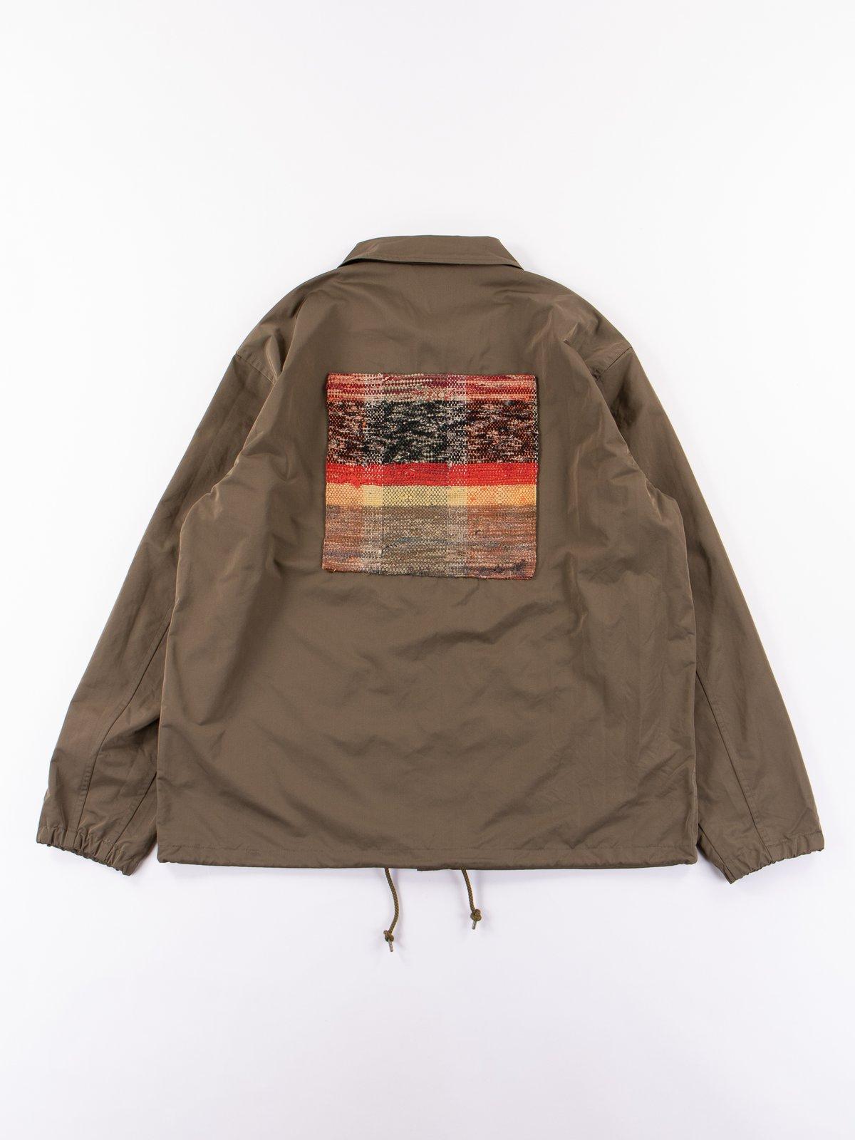 Khaki Coach Jacket - Image 6