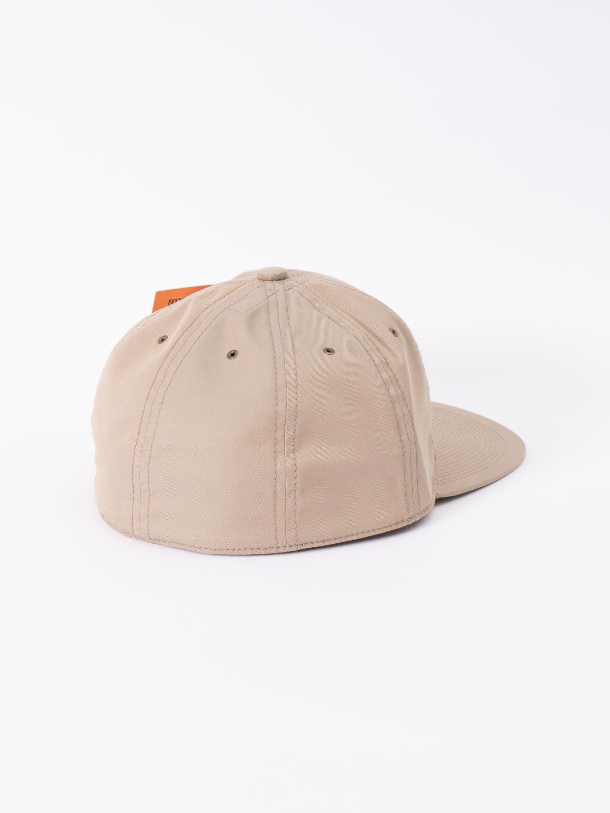 BEIGE COTTON CAP - Image 2