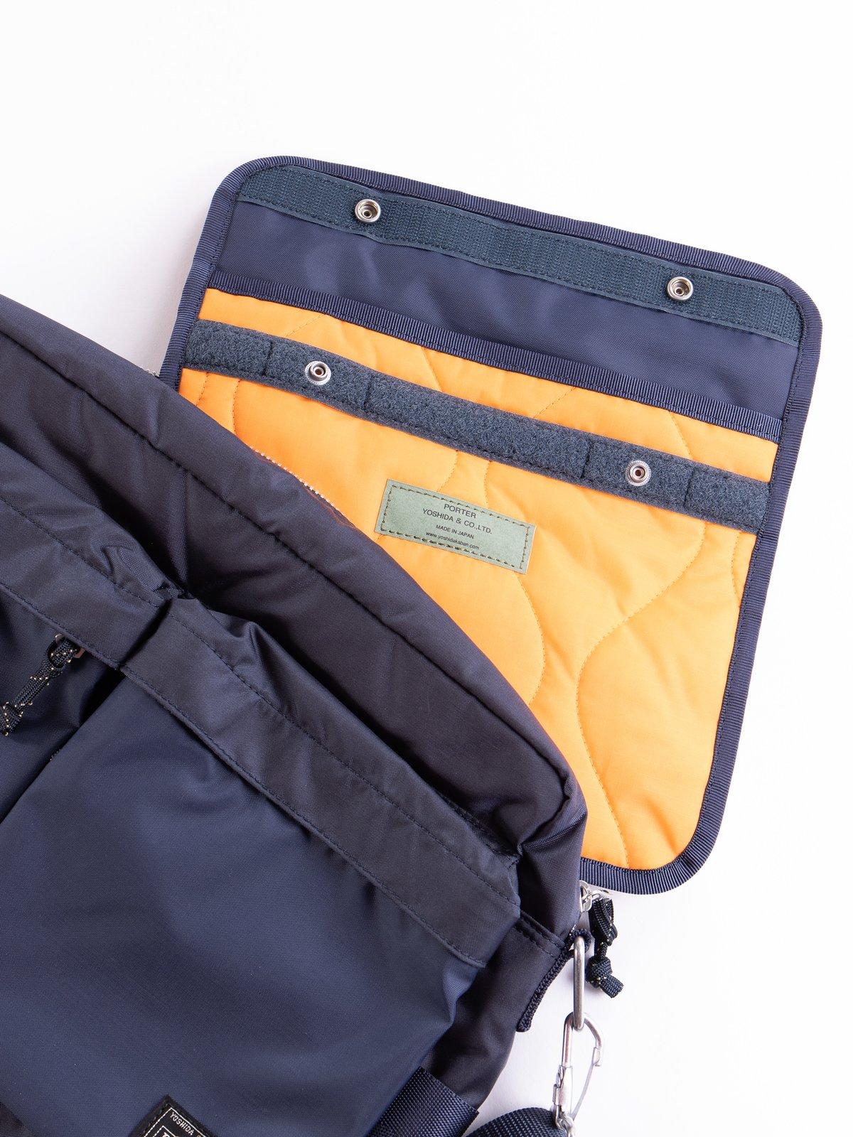 Navy Medium Force Shoulder Bag - Image 4