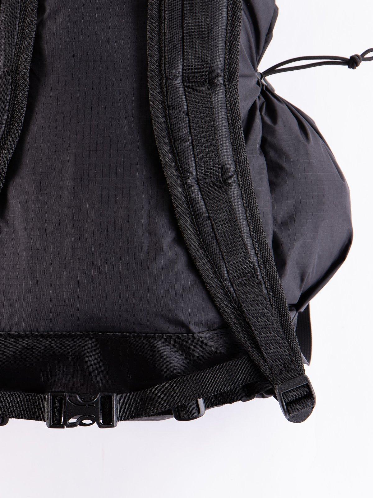 Black Nylon Ripstop UL Backpack - Image 4