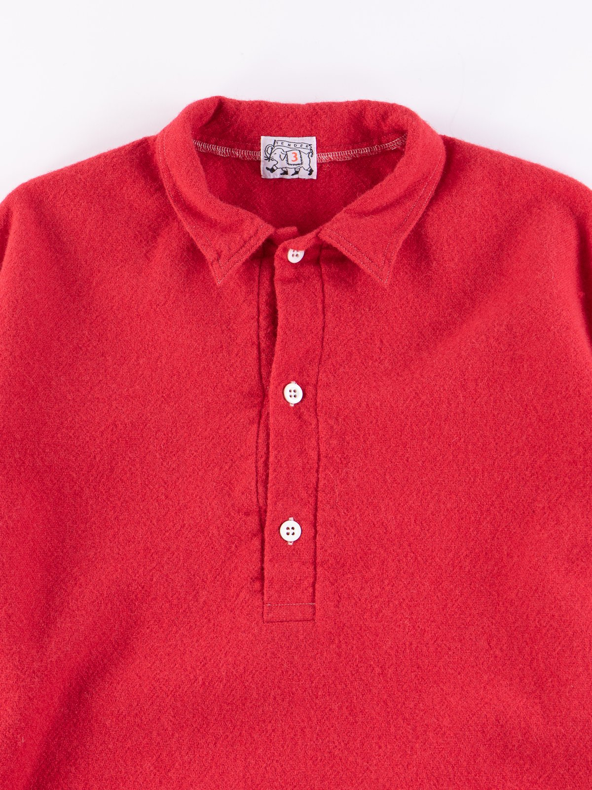 Scarlet Weavers Stock Pullover Tail Shirt - Image 3