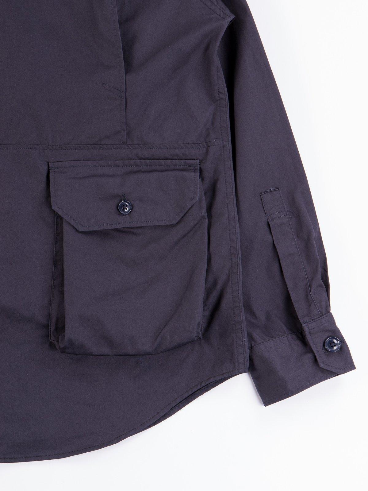 Dark Navy Highcount Twill Explorer Shirt Jacket - Image 8