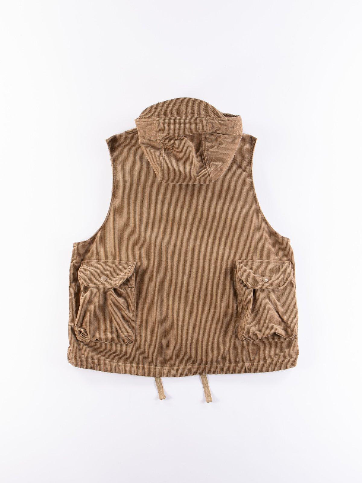 Khaki 8W Corduroy Field Vest - Image 6