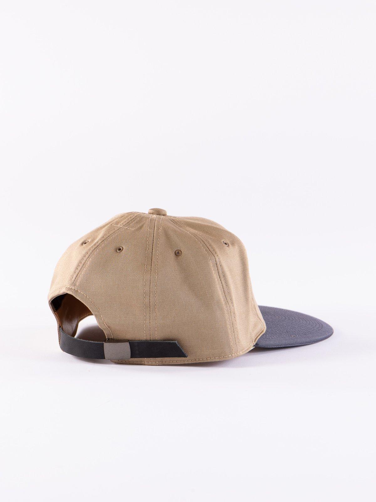 Beige/Black Chino Cap - Image 2