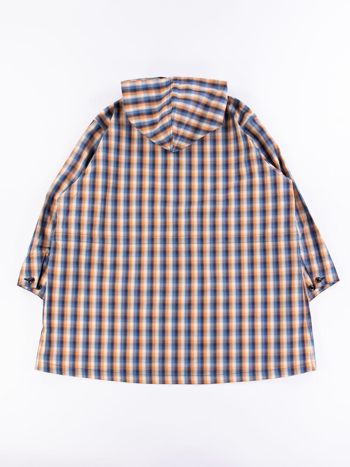 Blue/Orange Plaid Oxford Vancloth Czech Coat - Image 6
