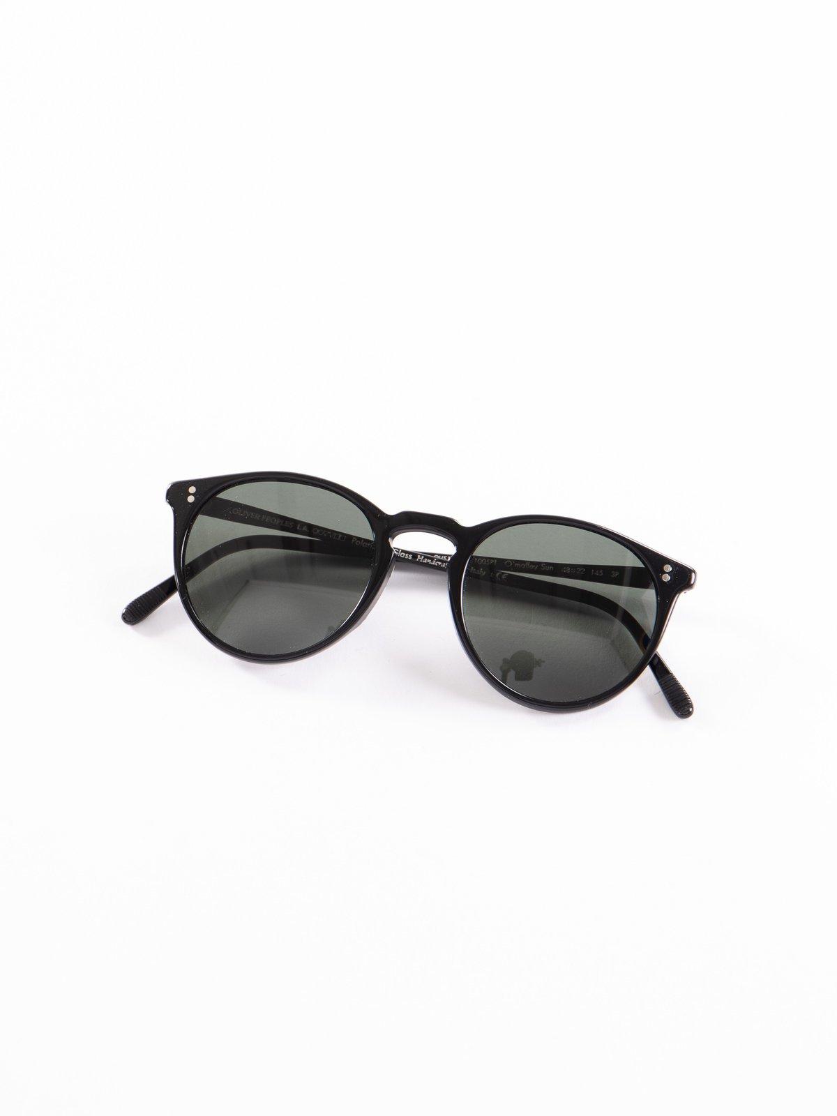 Black/Grey Polar O'Malley Sunglasses - Image 1