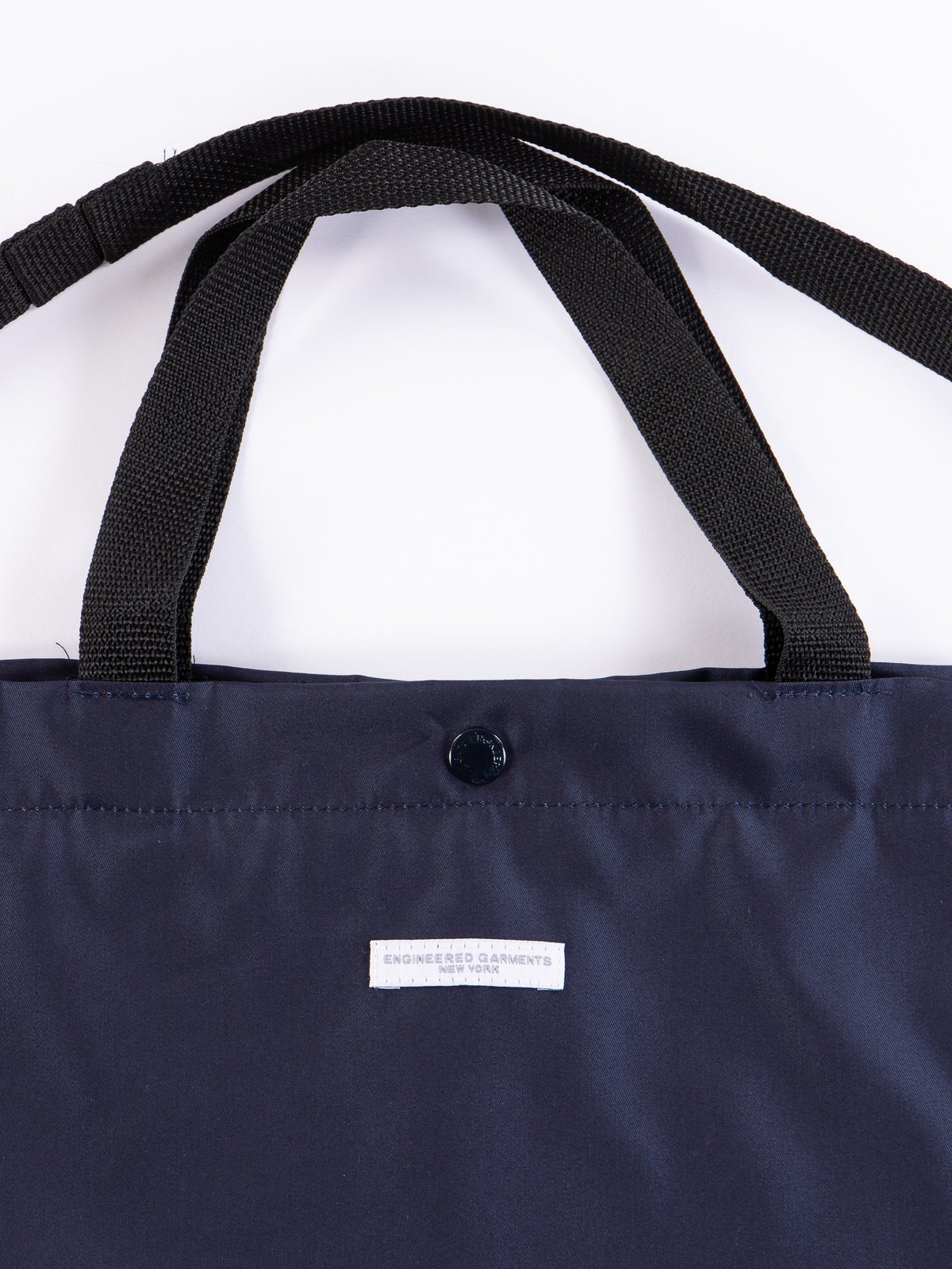 Navy PC Iridescent Twill Carry All Tote - Image 3