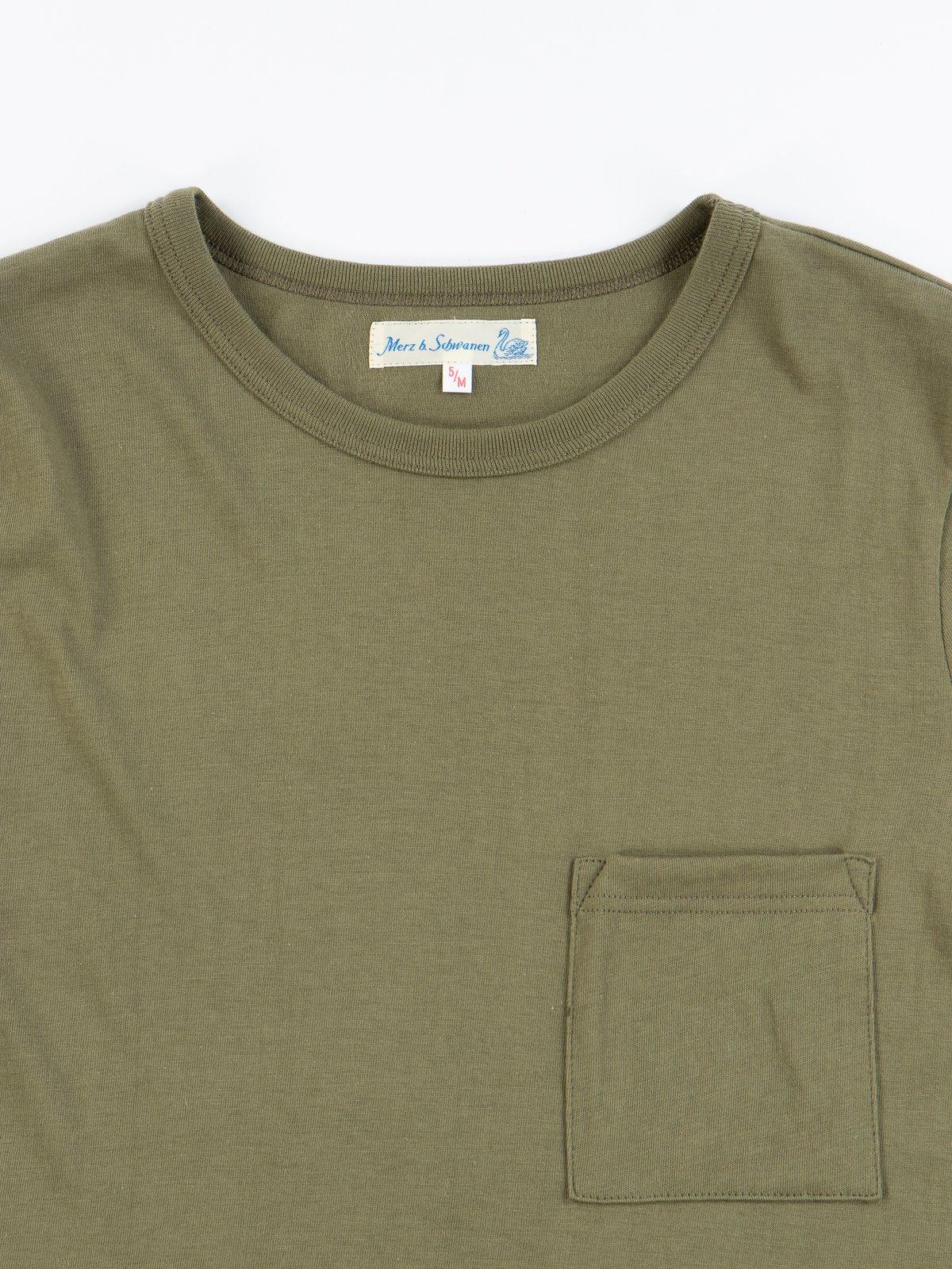 Army 1950s Organic Pocket Tee - Image 2