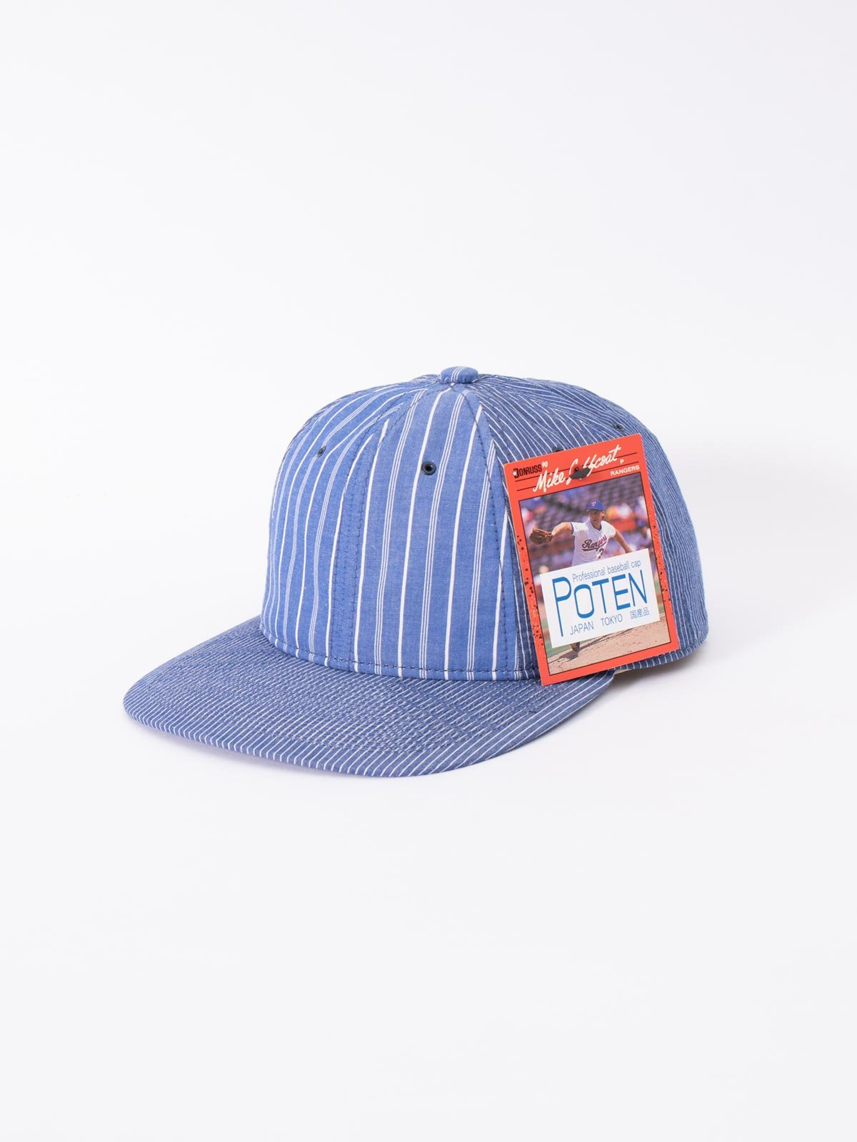 BLUE JAPANESE CHAMBRAY CAP - Image 1