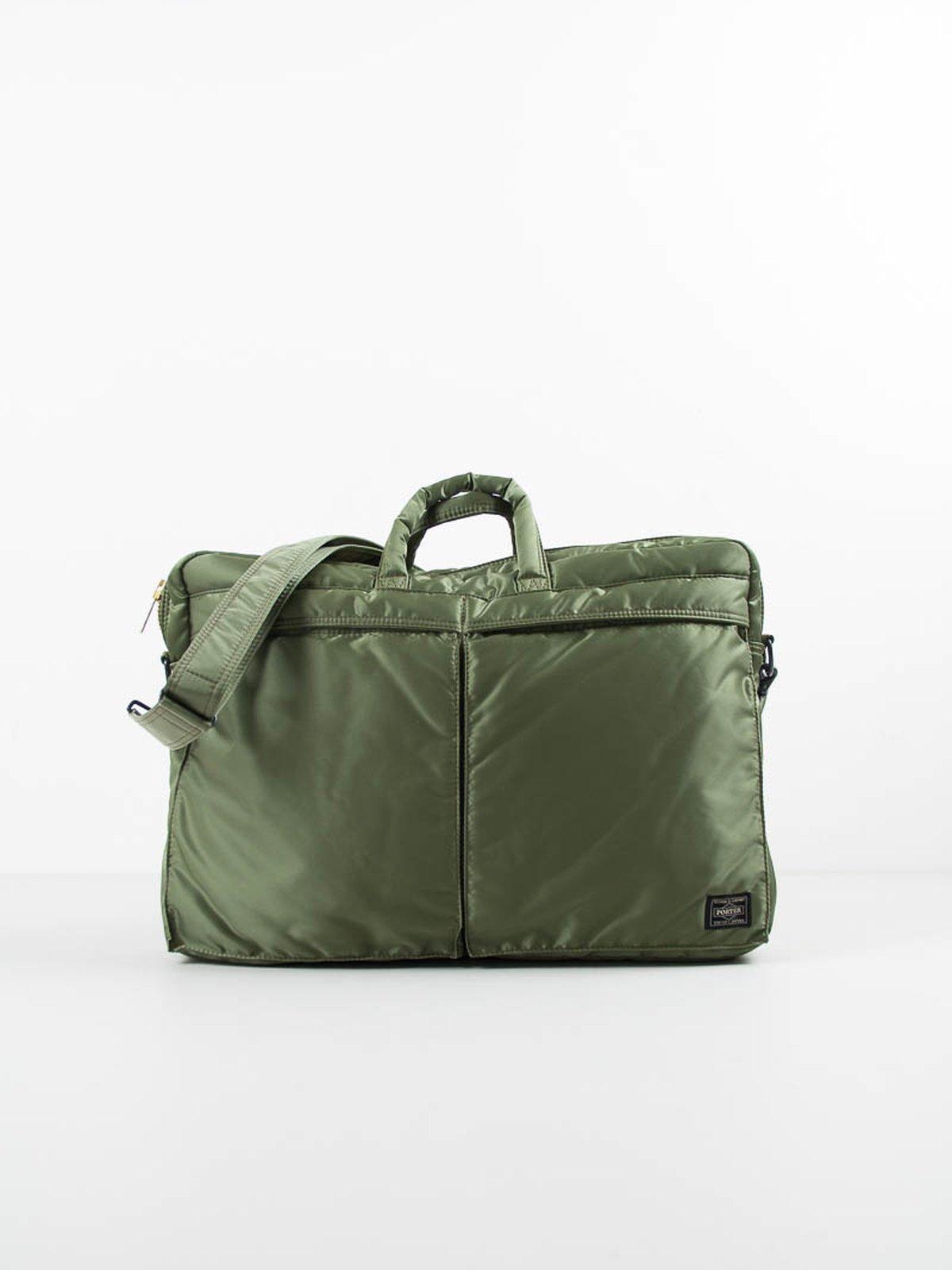 541603bf91 Khaki Green Tanker Brief Case by Porter – Yoshida   Co Ltd – The ...