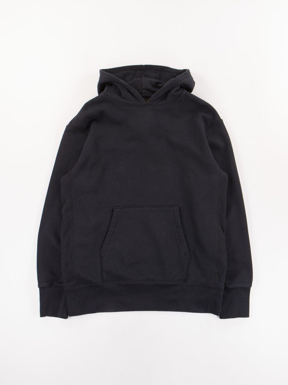 Black Gusset Pullover Parka - Image 1