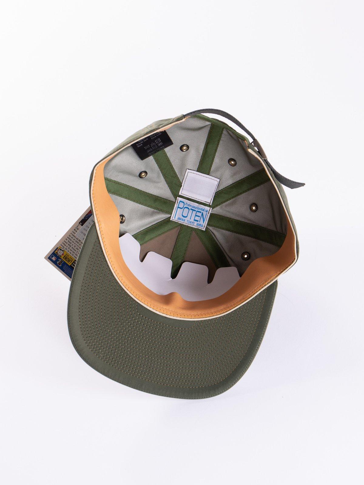 Olive Waterproof Cap - Image 4