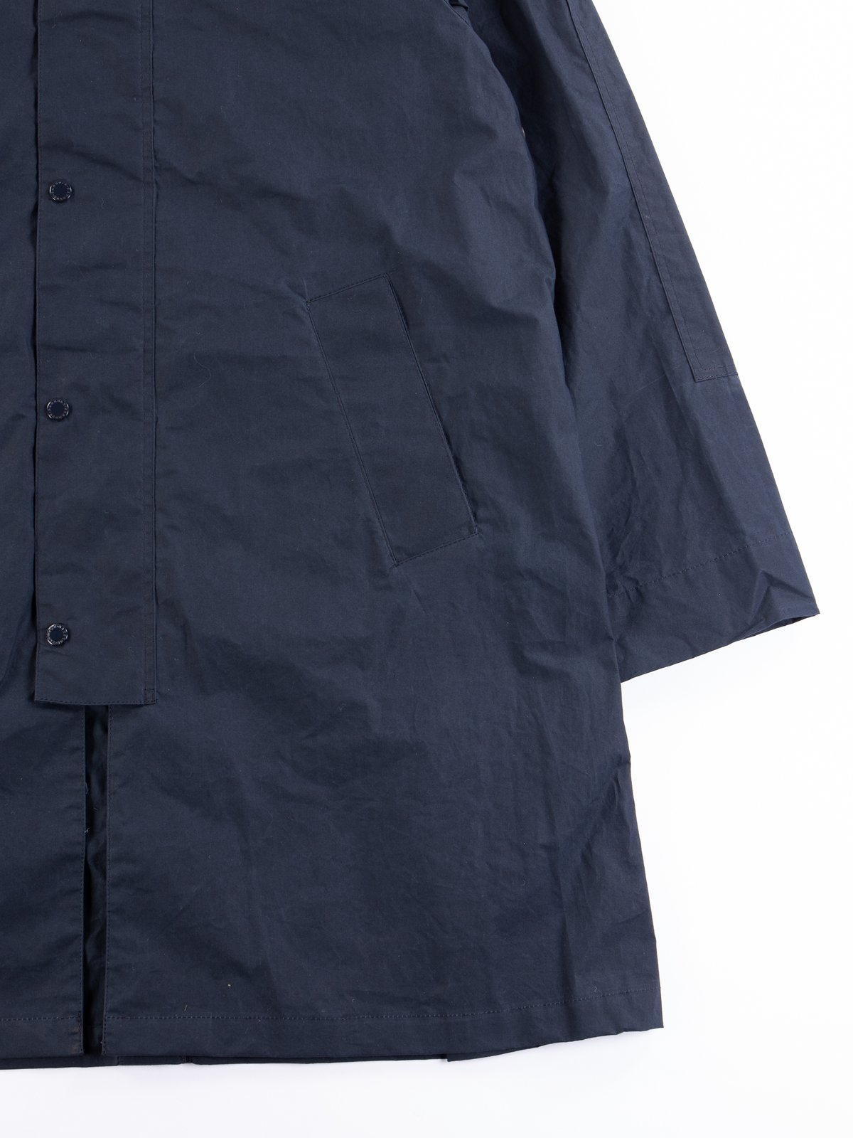 Navy South Overcoat - Image 4