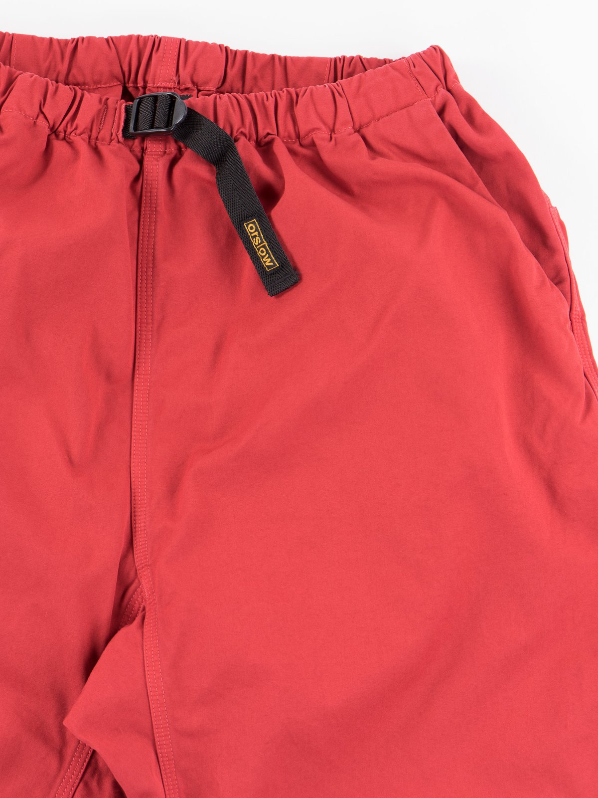 Red Overdyed Poplin Climbing Pant - Image 2