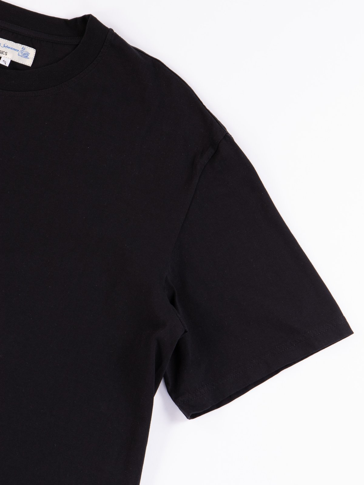 Deep Black Good Basics CTOS01 Oversized Crew Neck Tee - Image 4