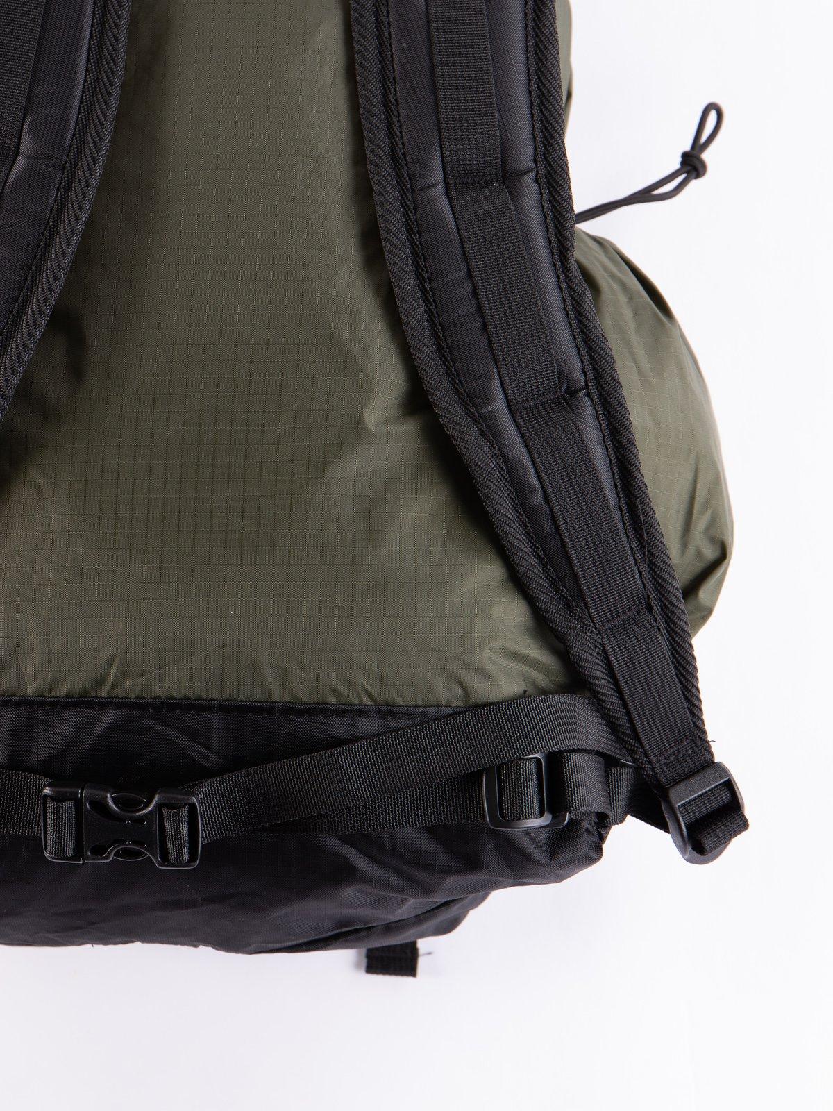 Olive Nylon Ripstop UL Backpack - Image 4