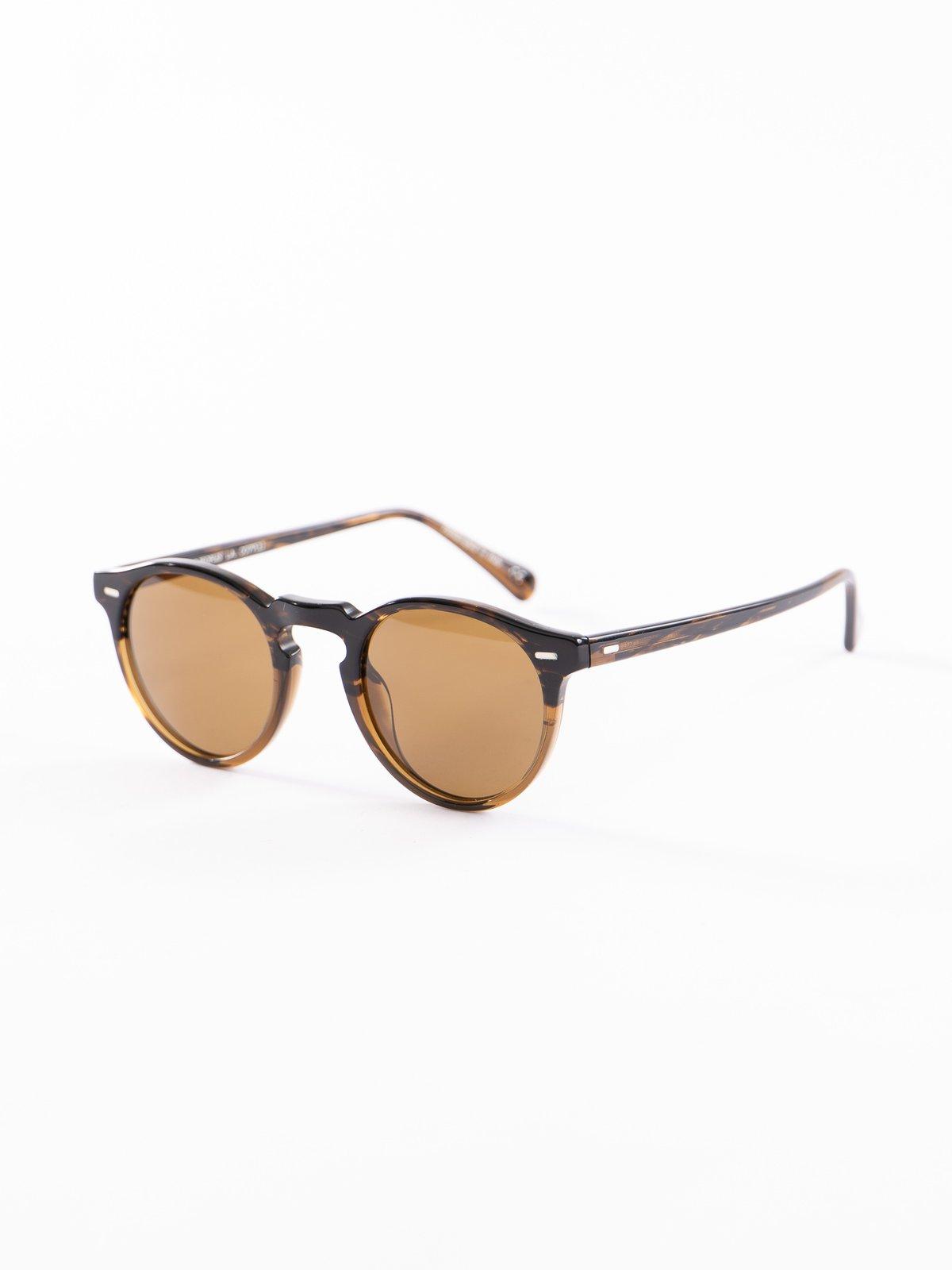 Tortoise/Brown Gregory Peck Sunglasses - Image 2