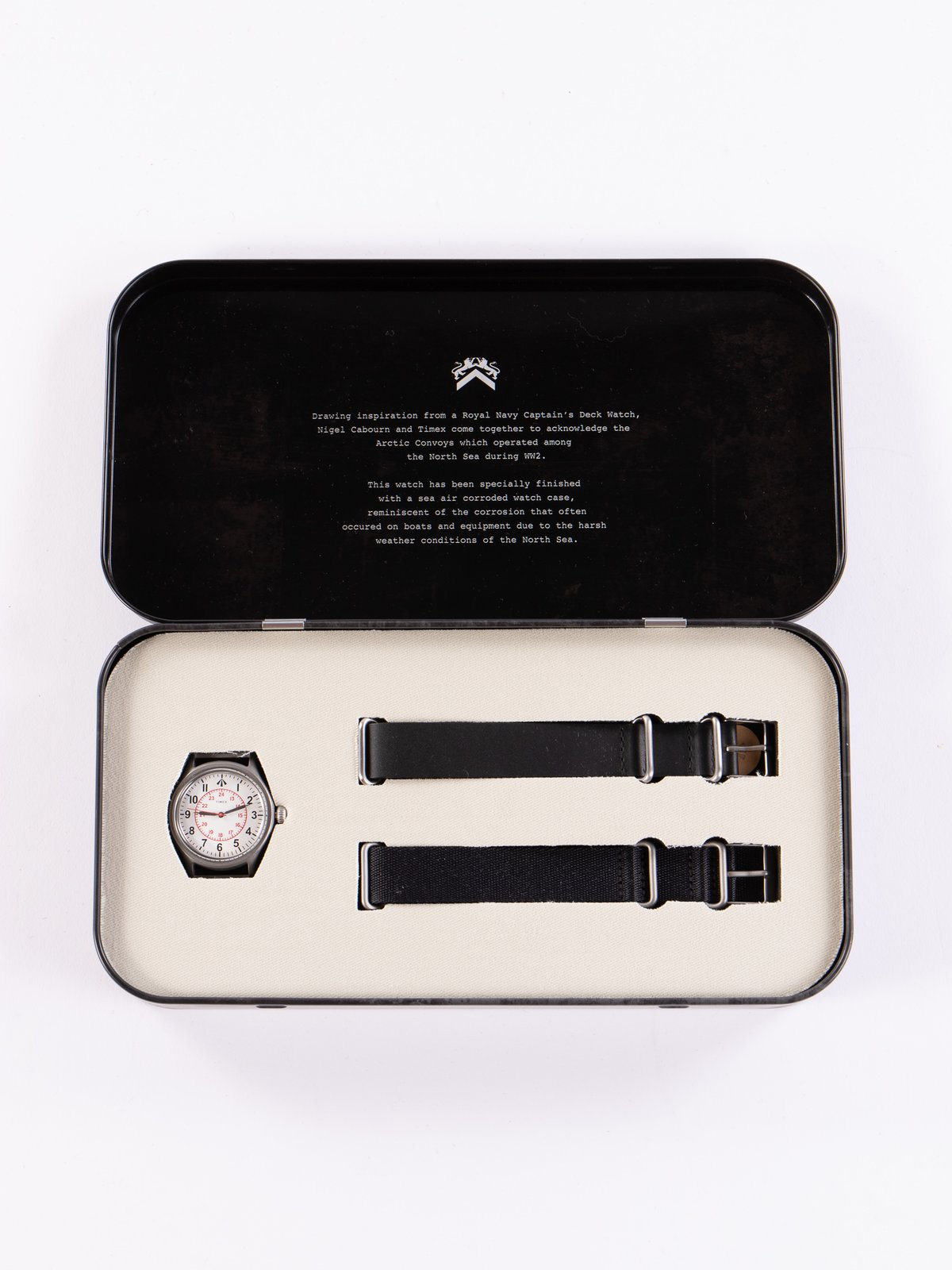 Cabourn x Timex Naval Officers Watch - Image 1