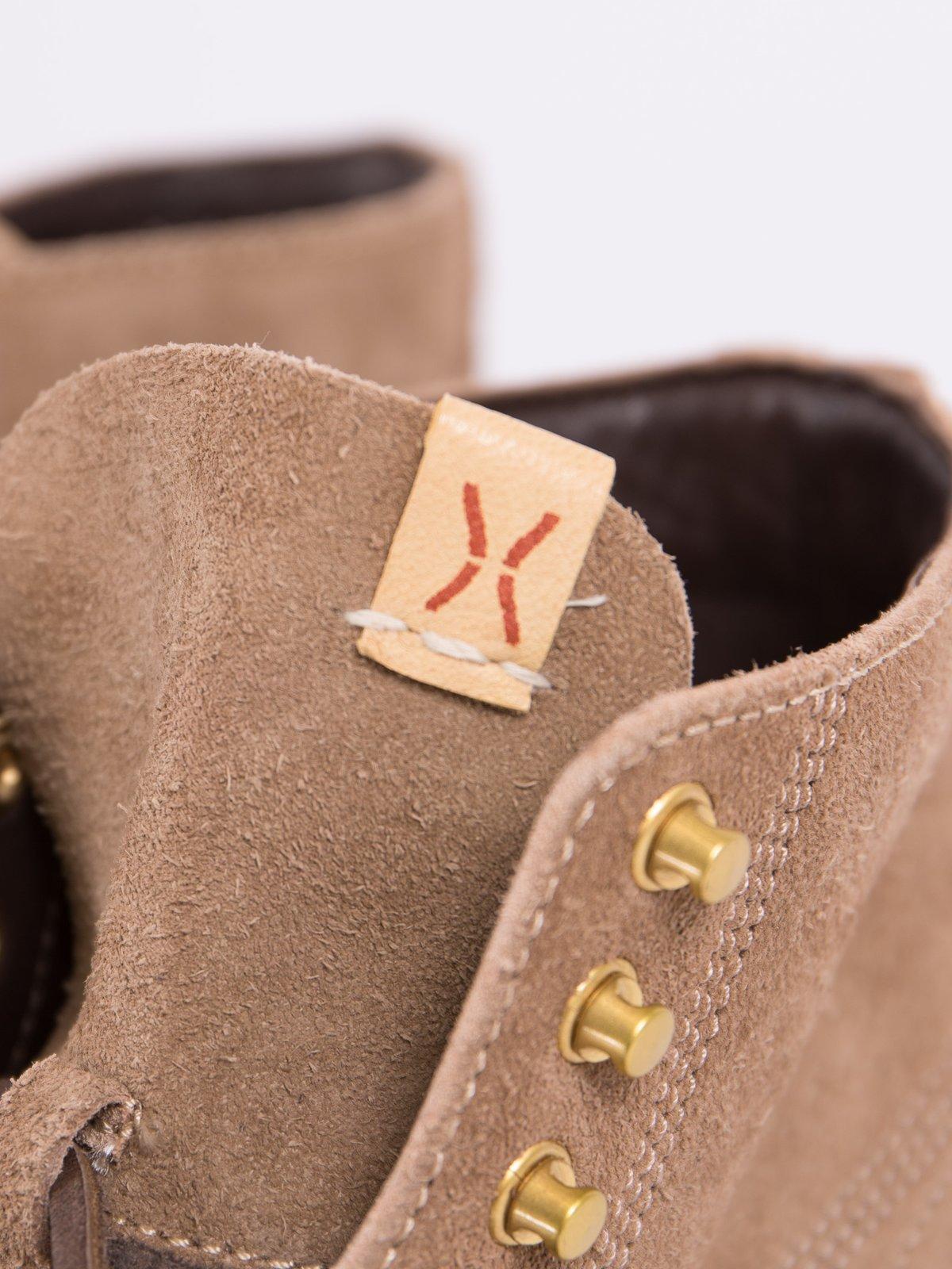 Sand Veg Suede Virgil Boots–Folk - Image 5