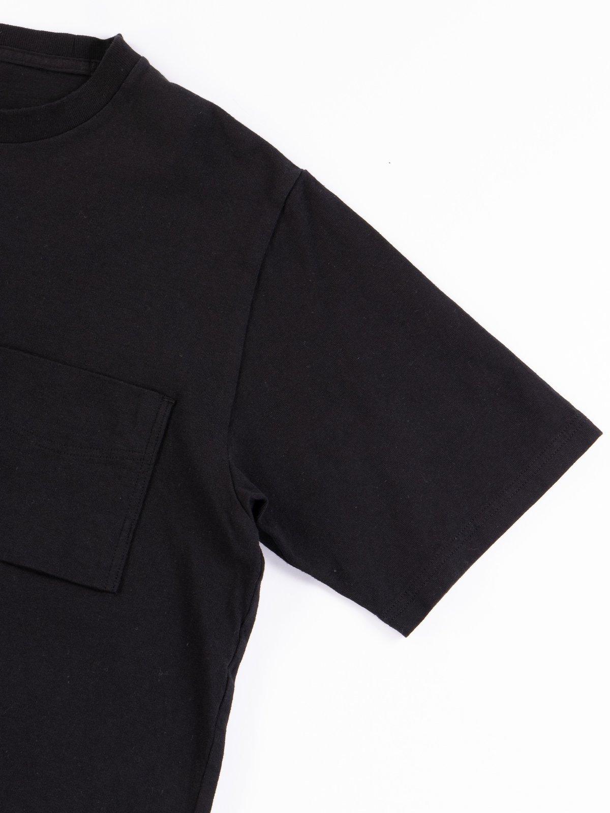Black Pocket T–Shirt - Image 4