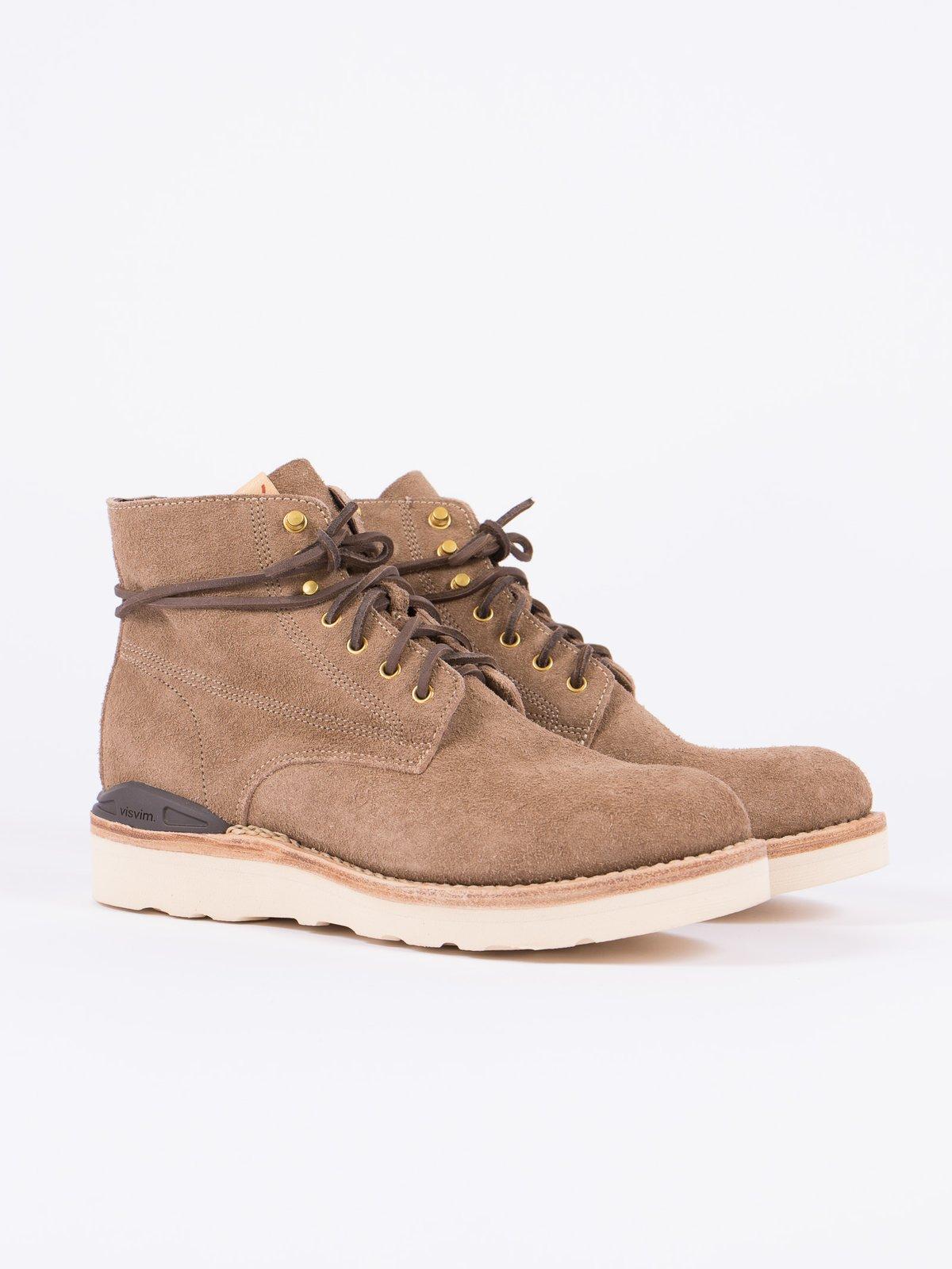 Sand Veg Suede Virgil Boots–Folk - Image 1