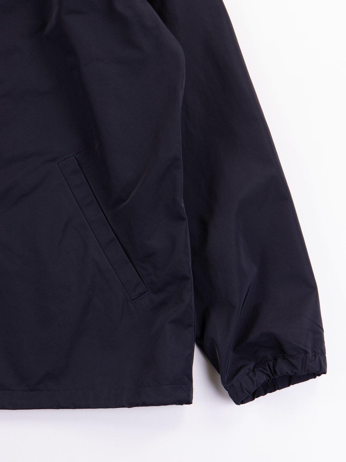 Navy Coach Jacket - Image 5
